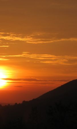 22499 descargar fondo de pantalla Paisaje, Puesta Del Sol, Montañas: protectores de pantalla e imágenes gratis
