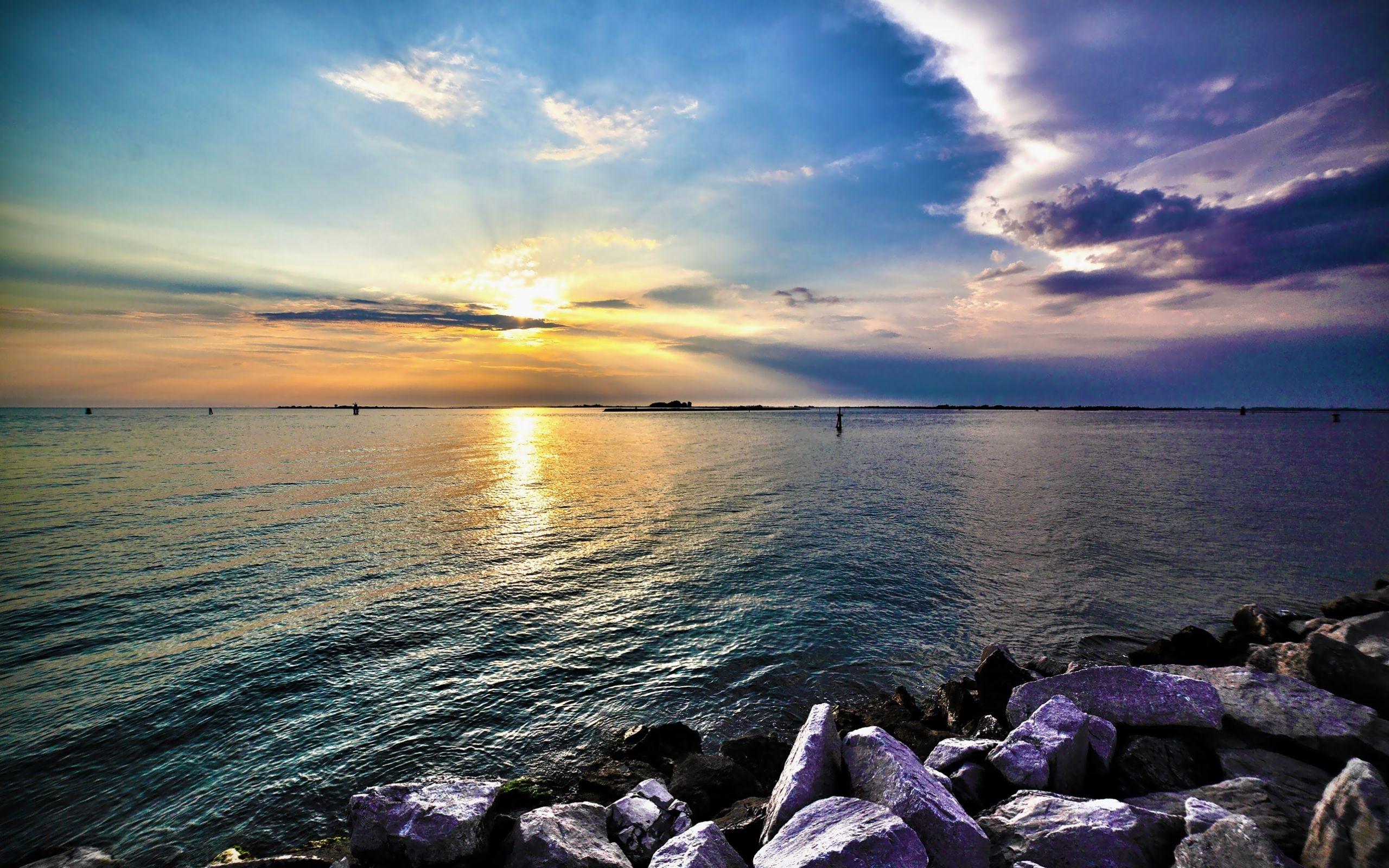 47875 télécharger le fond d'écran Paysage, Nature, Coucher De Soleil, Mer - économiseurs d'écran et images gratuitement