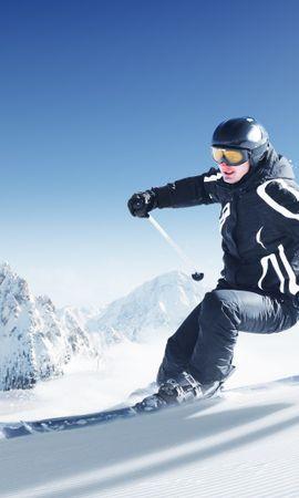 32211 скачать обои Спорт, Люди, Горы, Снег - заставки и картинки бесплатно