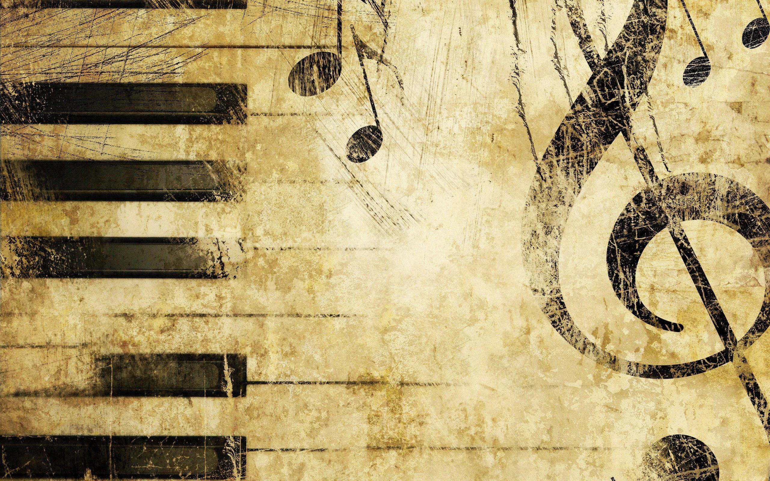 92579 Hintergrundbild herunterladen Musik, Verschiedenes, Sonstige, Schlüssel, Anmerkungen, Violinschlüssel, Dreifacher Schlüssel - Bildschirmschoner und Bilder kostenlos