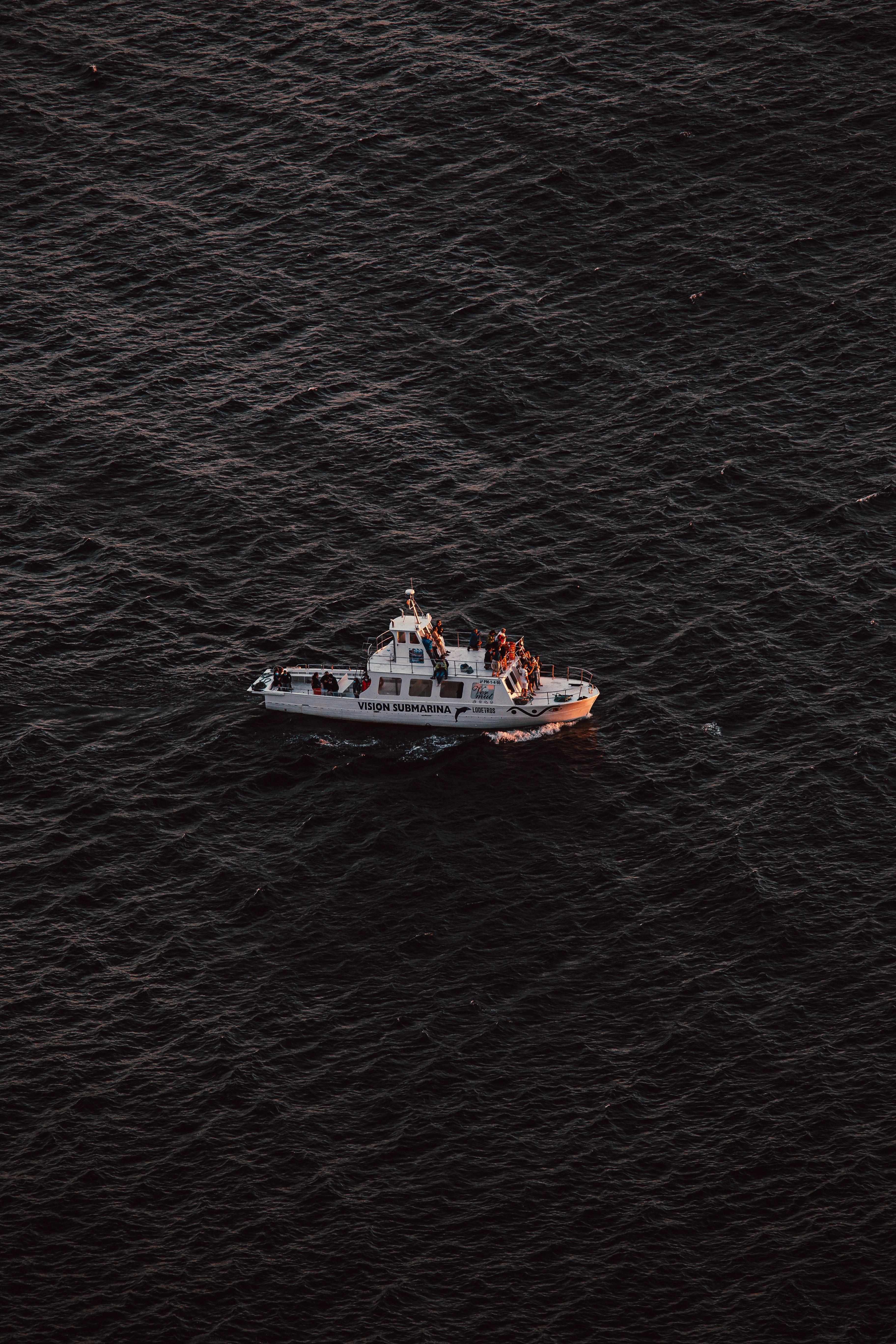 68133 скачать обои Разное, Лодка, Транспорт, Море, Волнистый, Волны - заставки и картинки бесплатно