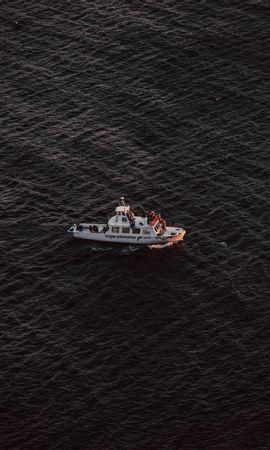 68133 descargar fondo de pantalla Miscelánea, Misceláneo, Un Barco, Bote, Transporte, Mar, Ondulado, Ondas: protectores de pantalla e imágenes gratis