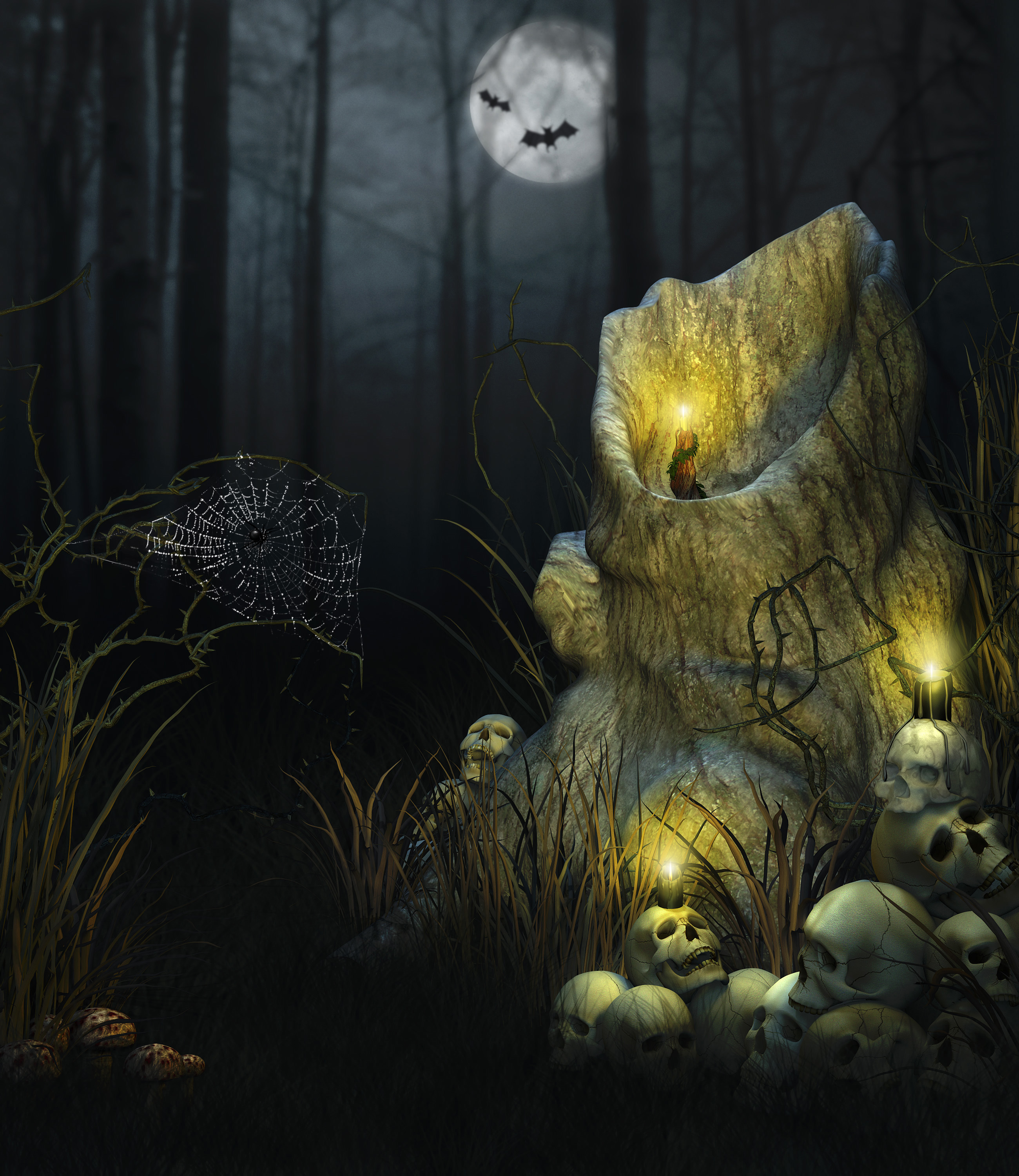 13184 download wallpaper Holidays, Halloween screensavers and pictures for free