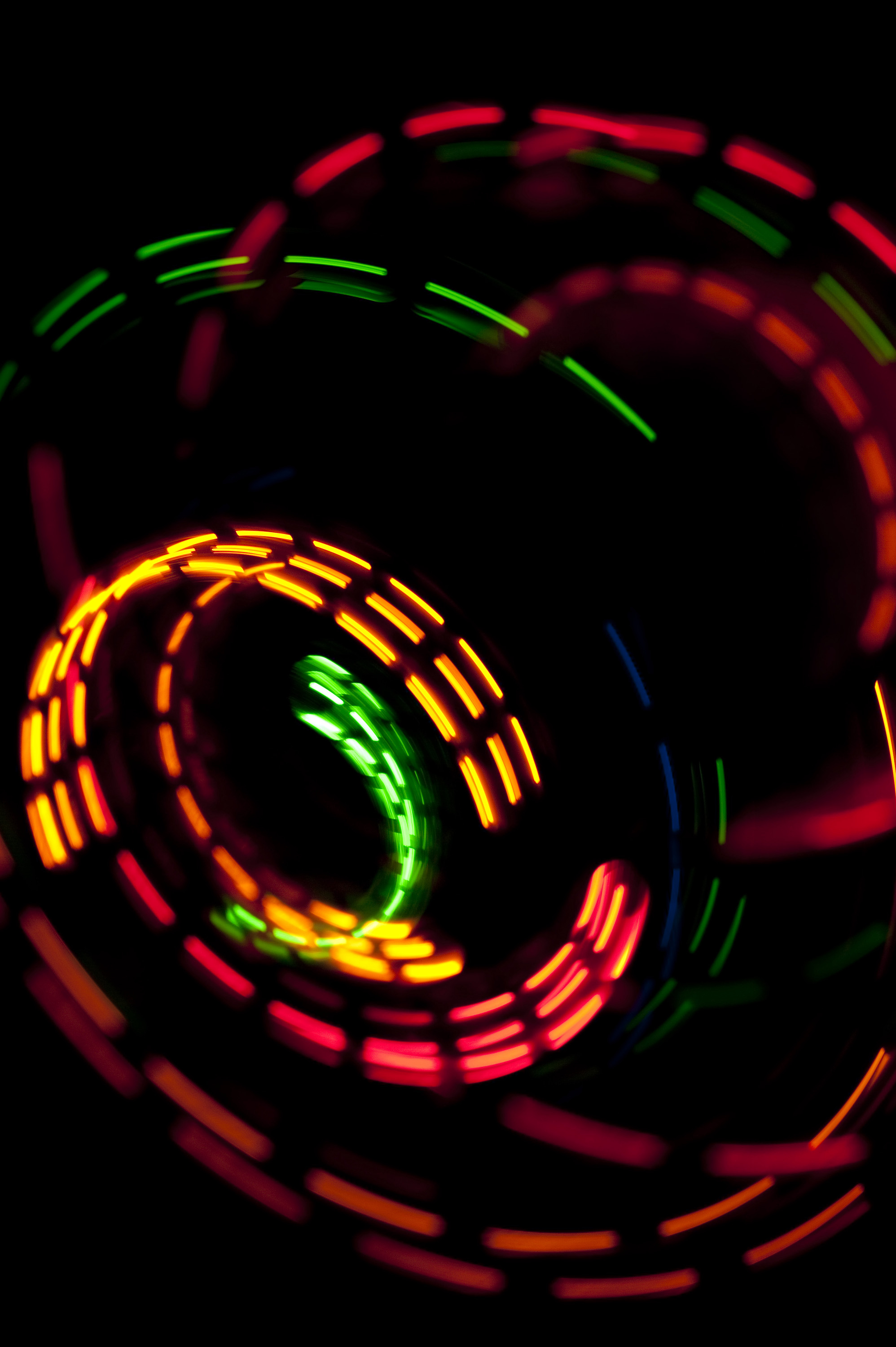 121983 download wallpaper Abstract, Shine, Light, Traffic, Movement, Long Exposure, Multicolored, Motley screensavers and pictures for free
