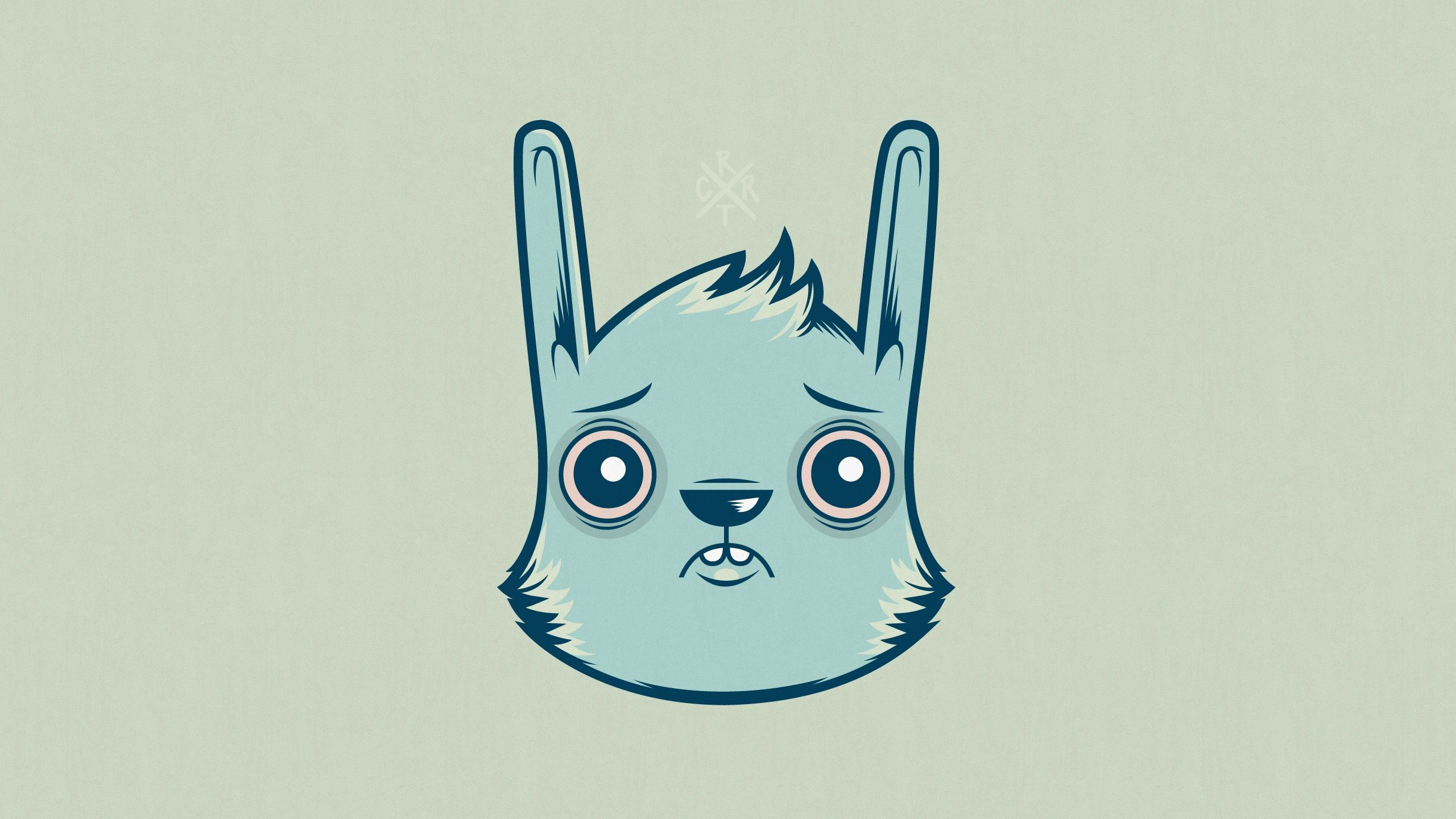 130653 download wallpaper Art, Hare, Muzzle, Picture, Drawing, Color, Paper screensavers and pictures for free