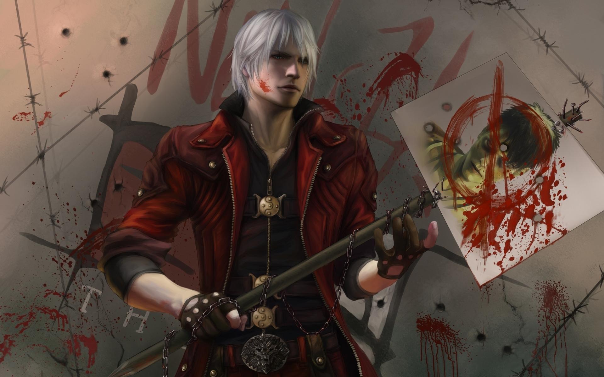 37937 скачать обои Игры, Аниме, Devil May Cry - заставки и картинки бесплатно