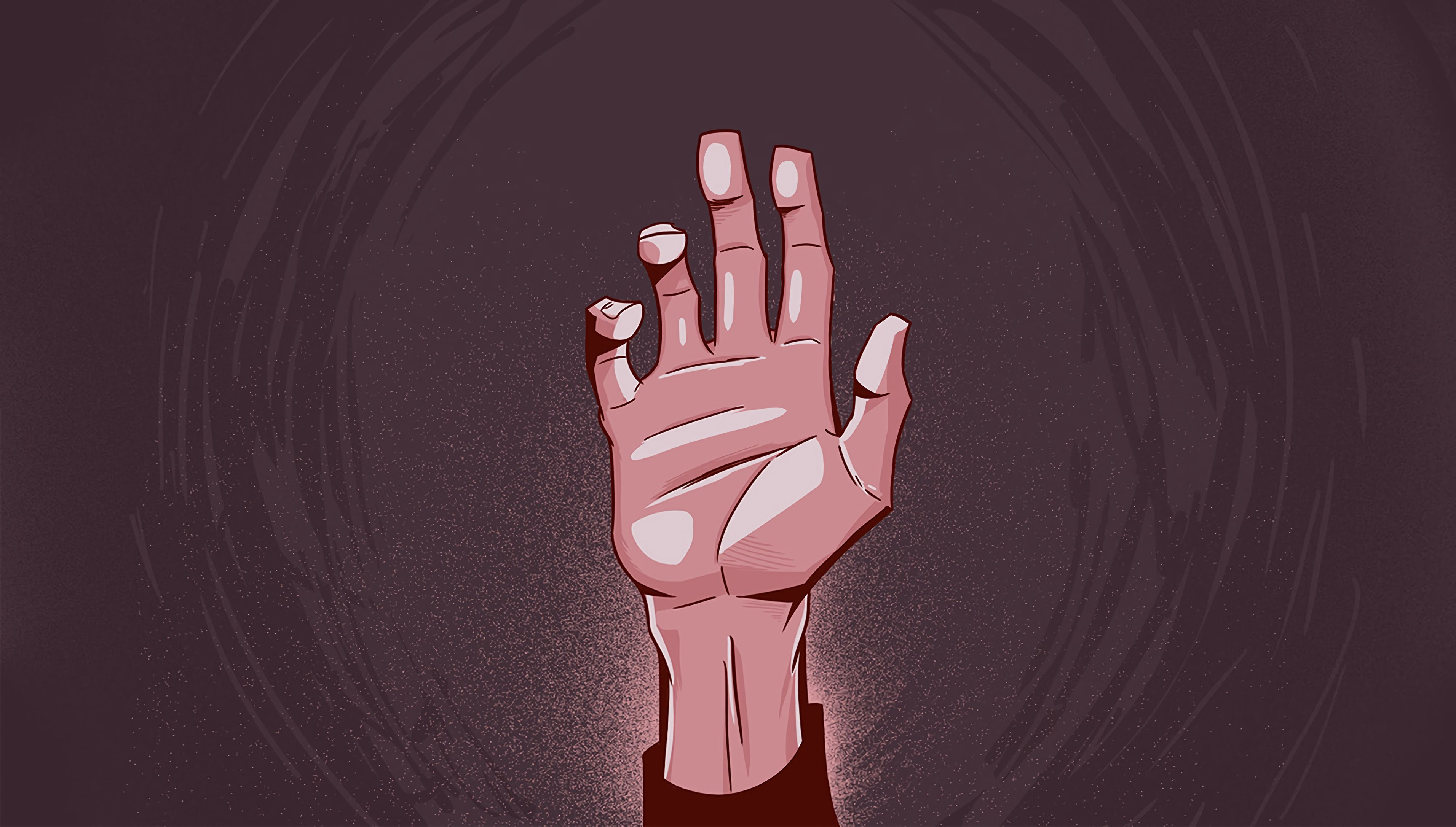 69392 Screensavers and Wallpapers Hand for phone. Download Hand, Palm, Fingers, Bent, Raised, Art pictures for free