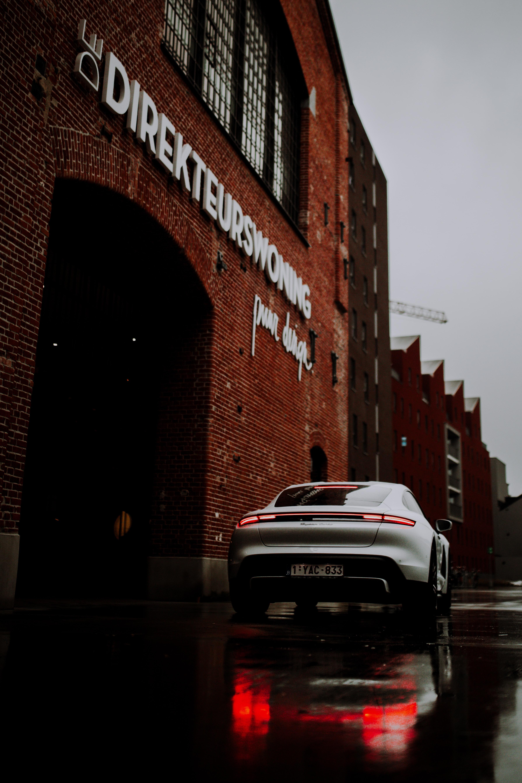 150146 Заставки и Обои Порш (Porsche) на телефон. Скачать Порш (Porsche), Тачки (Cars), Автомобиль, Серый, Спорткар, Вид Сзади картинки бесплатно