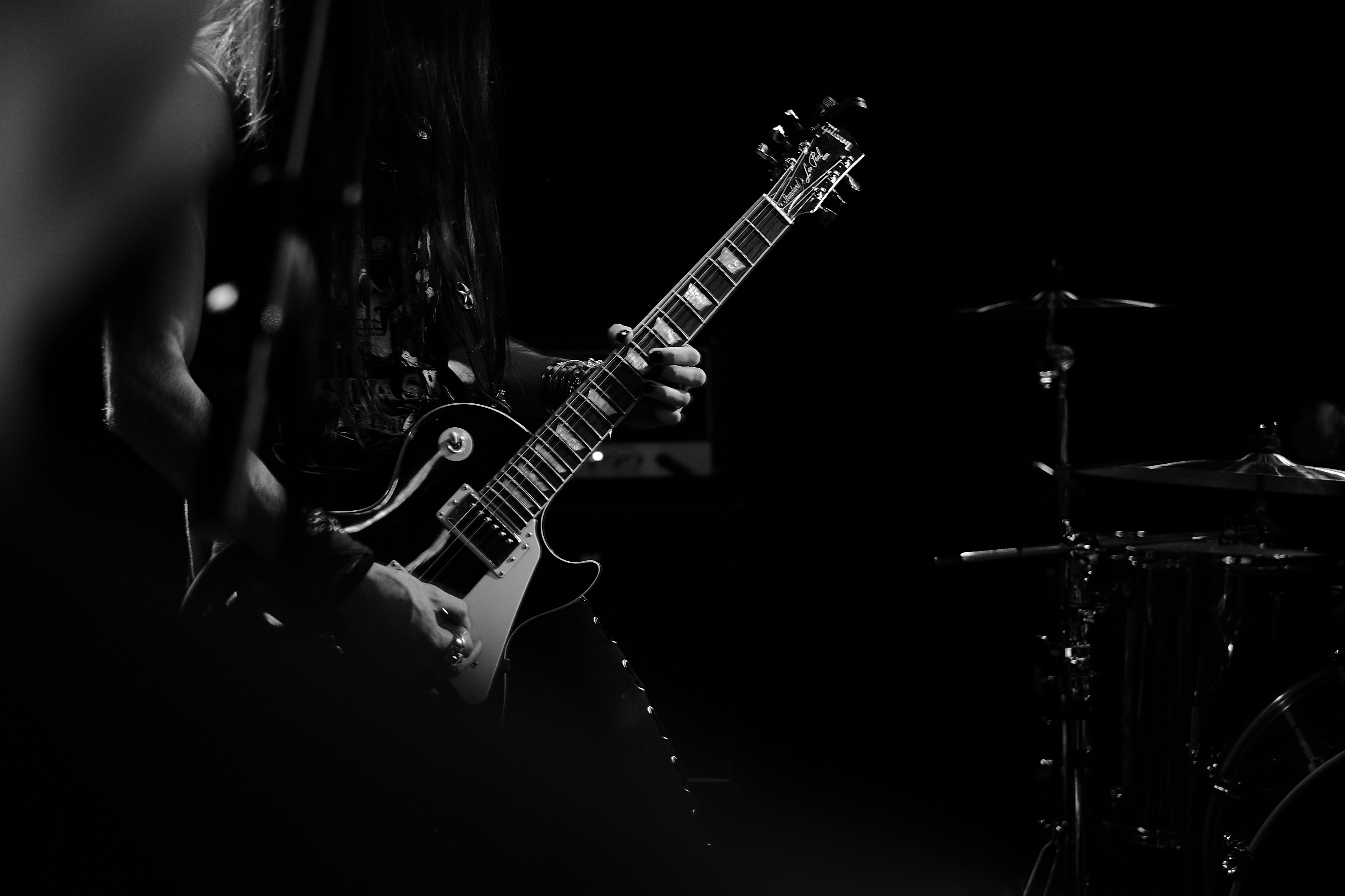 109234 Screensavers and Wallpapers Bw for phone. Download Music, Guitar, Bw, Chb, Musician, Guitar Player, Guitarist pictures for free