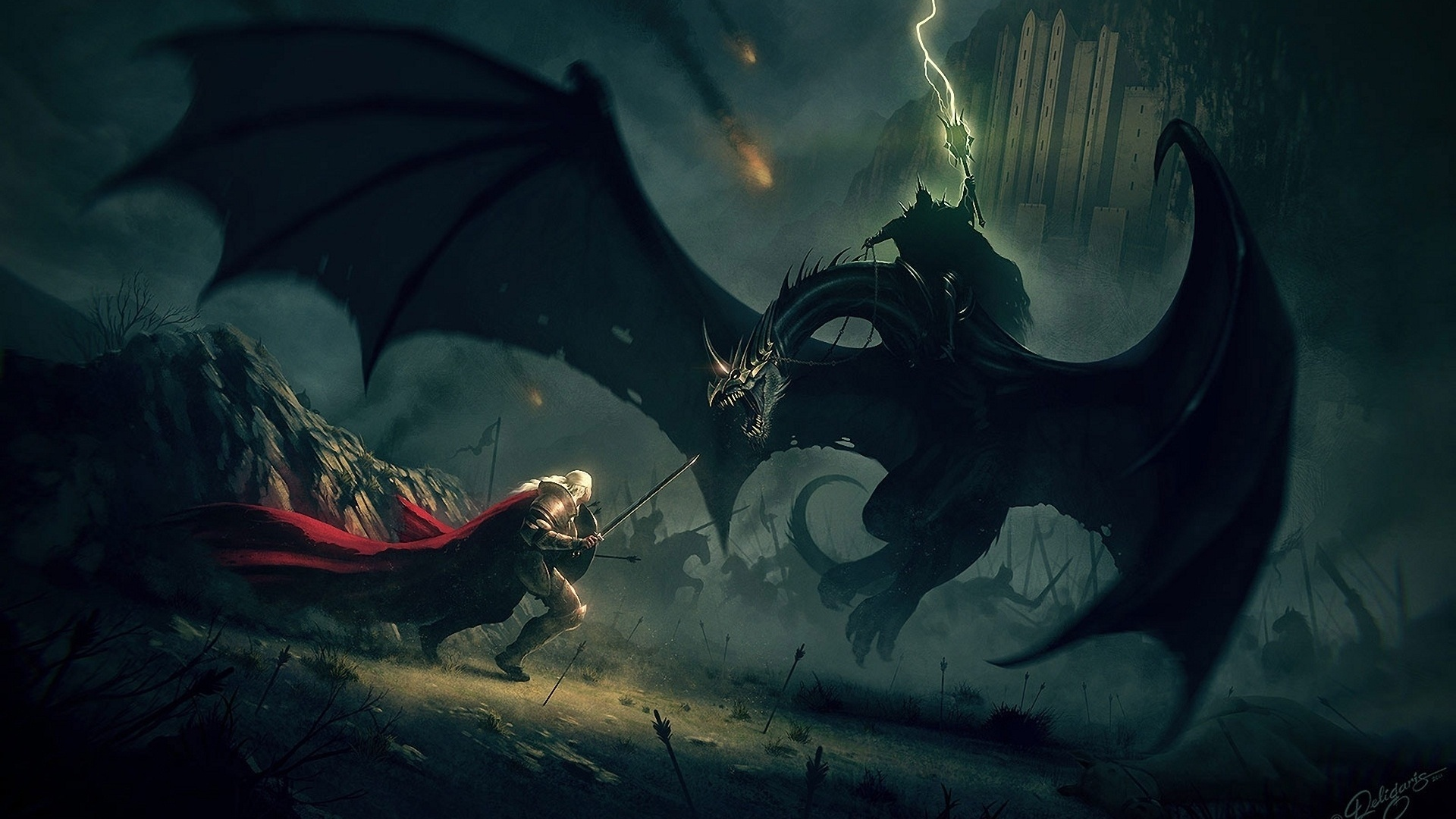 15647 download wallpaper Fantasy, Dragons screensavers and pictures for free