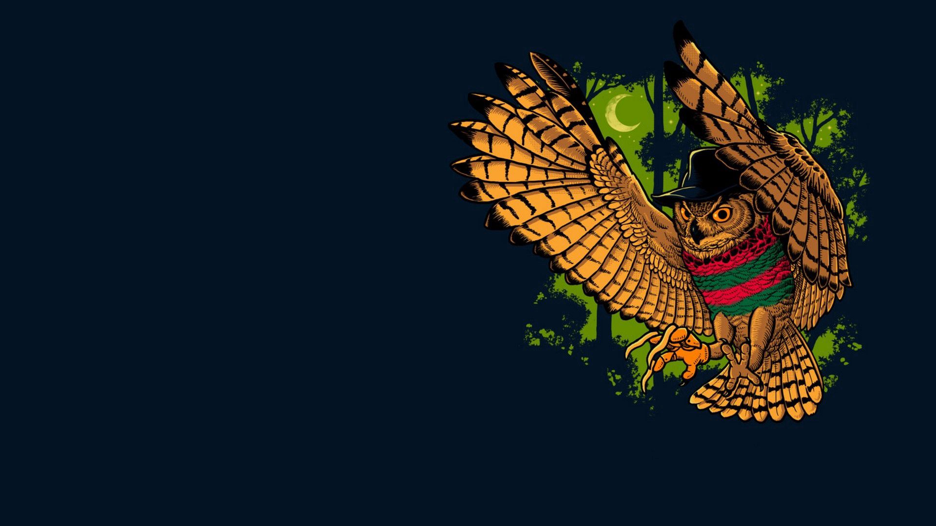 134872 Screensavers and Wallpapers Bird for phone. Download Owl, Freddy Krueger, Vector, Bird, Minimalism pictures for free