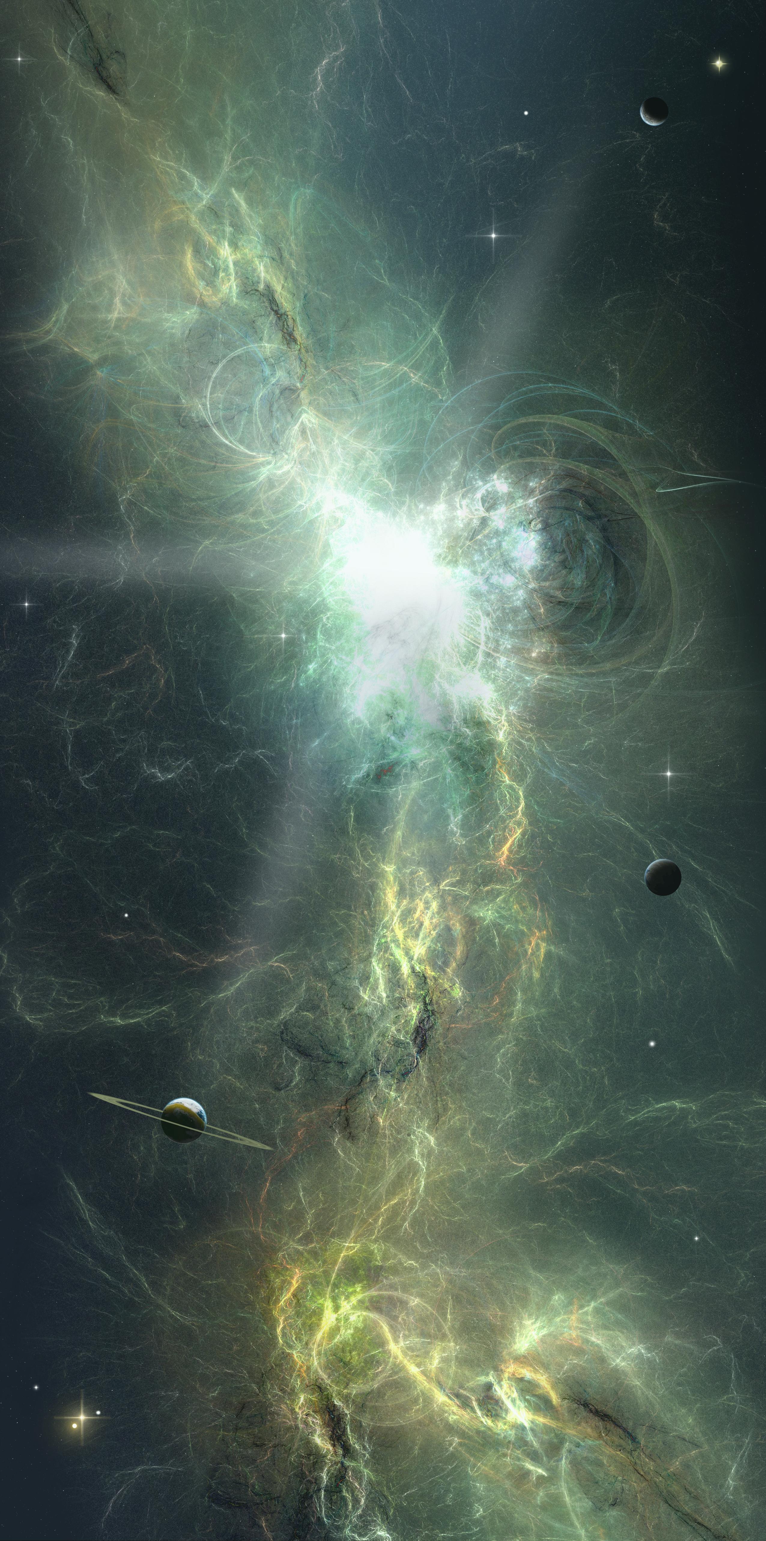 153265 скачать обои Абстракция, Вспышка, Яркий, Энергия, Космос, Звезды, Планеты - заставки и картинки бесплатно