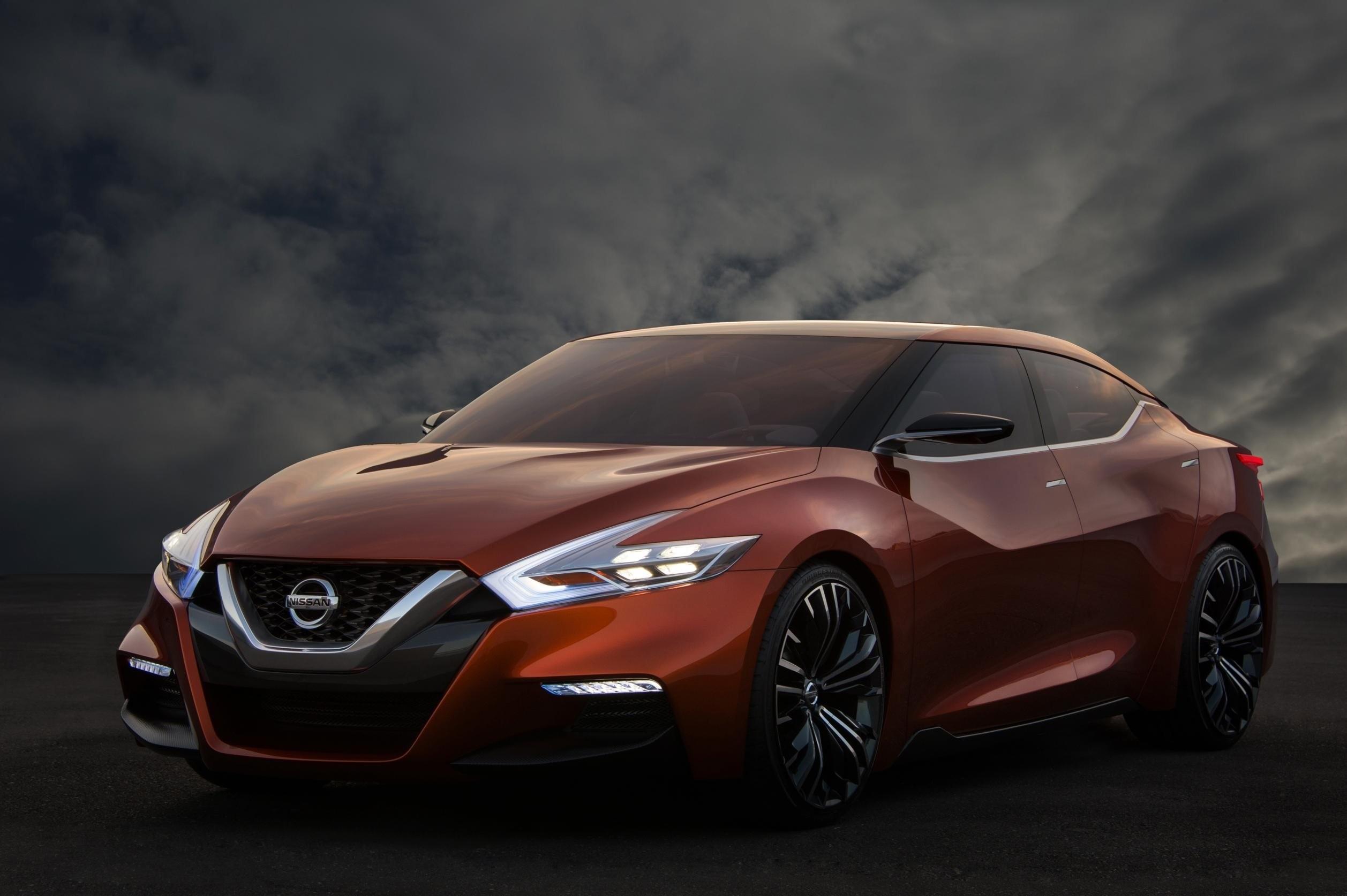 137269 скачать обои Ниссан (Nissan), Тачки (Cars), Front View, Sport Sedan Concept - заставки и картинки бесплатно