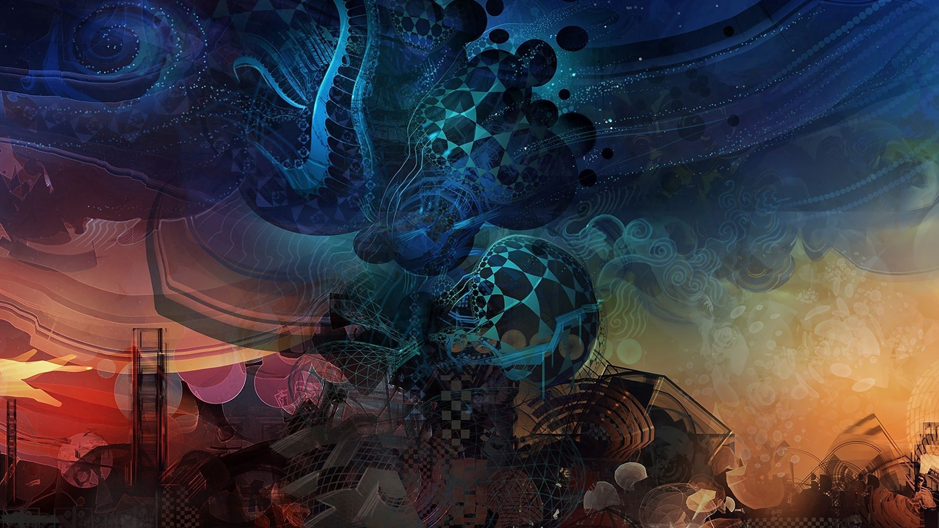 133335 download wallpaper Abstract, Fantasy, Shine, Light, Pattern, Imagination screensavers and pictures for free