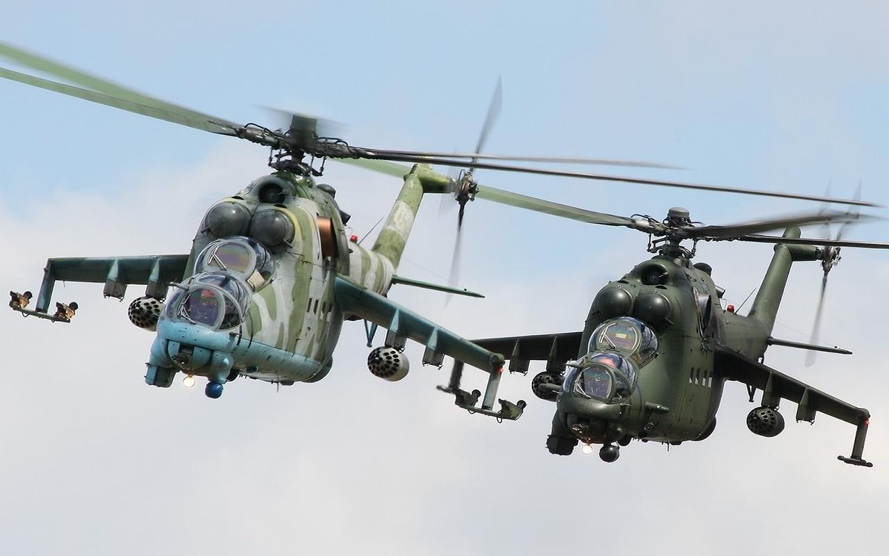 29441 Hintergrundbild herunterladen Transport, Hubschrauber, Waffe - Bildschirmschoner und Bilder kostenlos