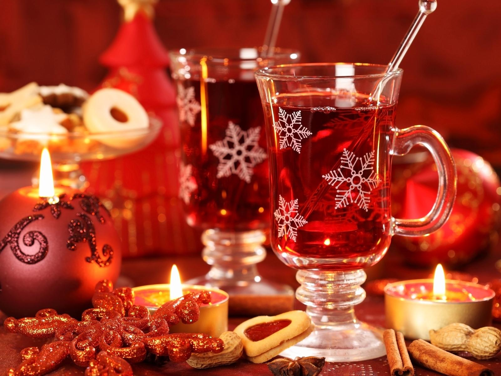 16481 скачать обои Новый Год (New Year), Напитки, Еда, Рождество (Christmas, Xmas) - заставки и картинки бесплатно