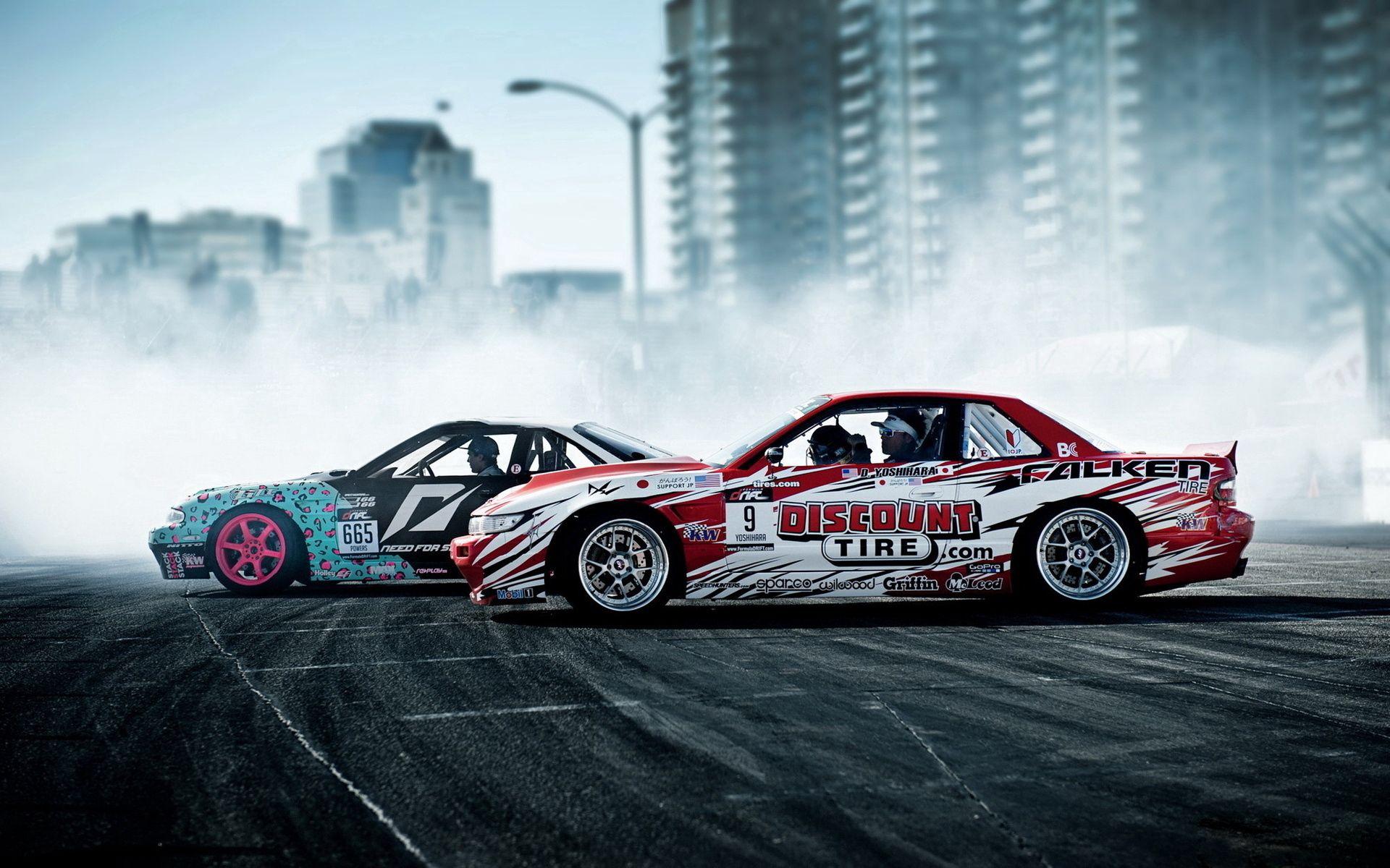 89588 Hintergrundbild herunterladen Sport, Nissan, Raucher, Autos, Drift - Bildschirmschoner und Bilder kostenlos