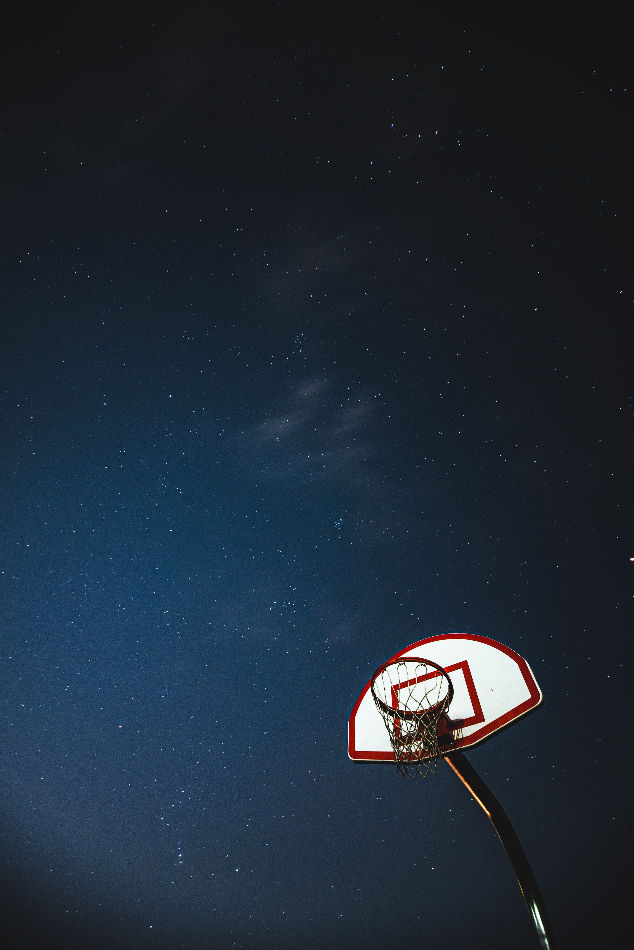 50573 Screensavers and Wallpapers Basketball for phone. Download Sports, Basketball, Basketball Backboard, Basketball Shield, Grid, Night, Stars pictures for free