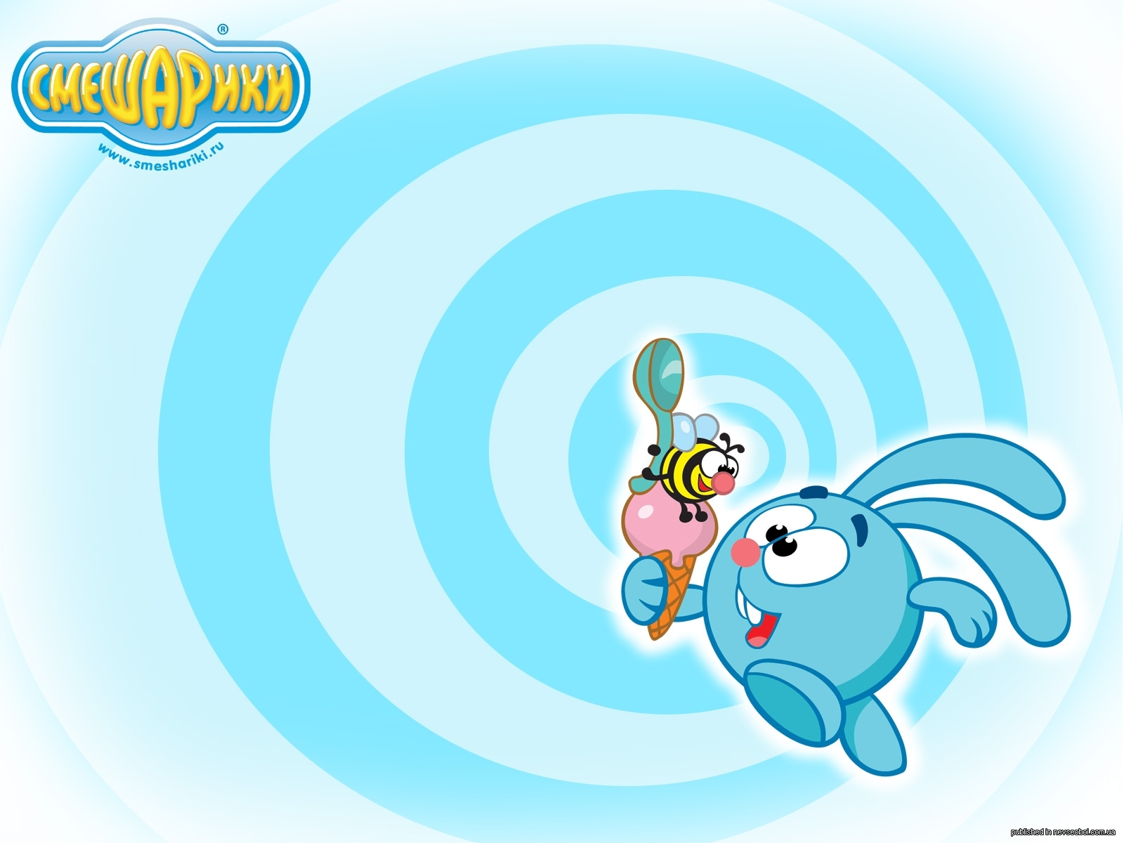 15808 download wallpaper Cartoon, Rabbits, Smeshariki screensavers and pictures for free