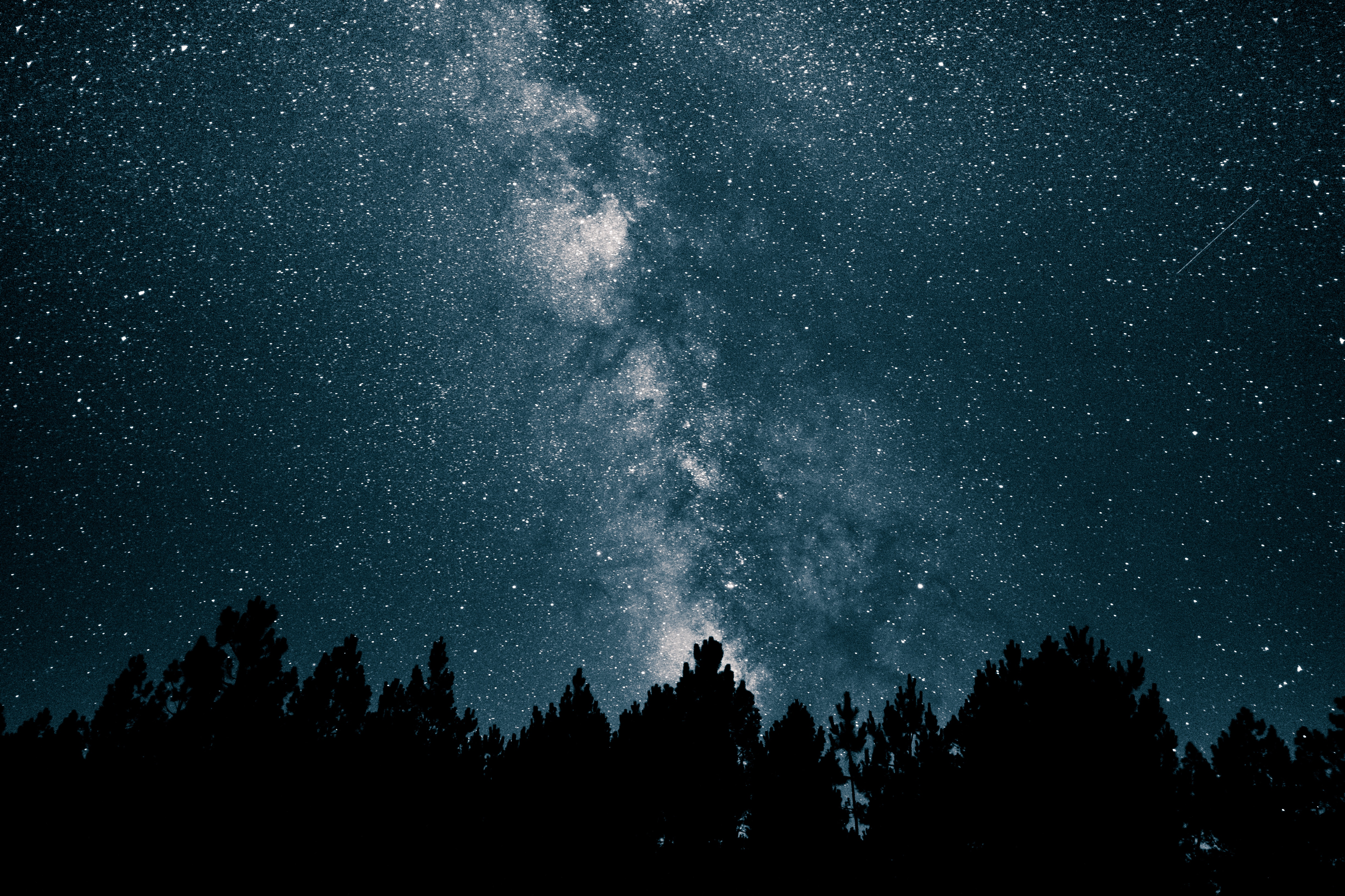 52768 download wallpaper Universe, Stars, Night, Starry Sky, Milky Way screensavers and pictures for free