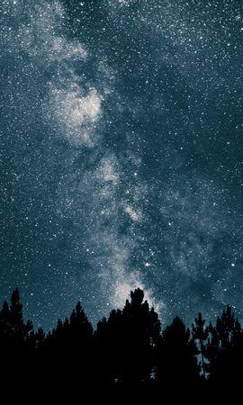 52768壁紙のダウンロード星空, 天の川, ナイト, スター, 宇宙-スクリーンセーバーと写真を無料で
