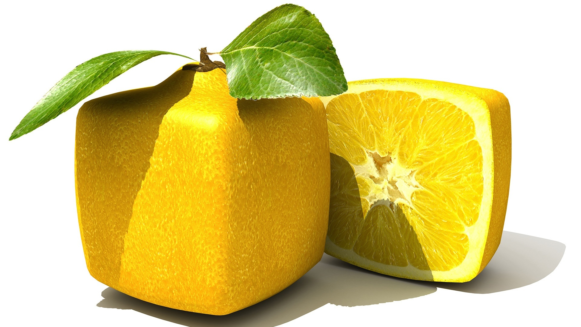 41612 download wallpaper Food, Lemons, Objects screensavers and pictures for free