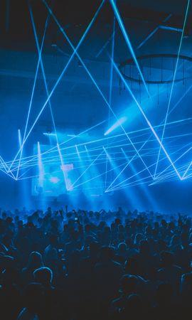 134442 Заставки и Обои Музыка на телефон. Скачать Музыка, Концерт, Толпа, Люди, Свет, Лазер, Вечеринка картинки бесплатно