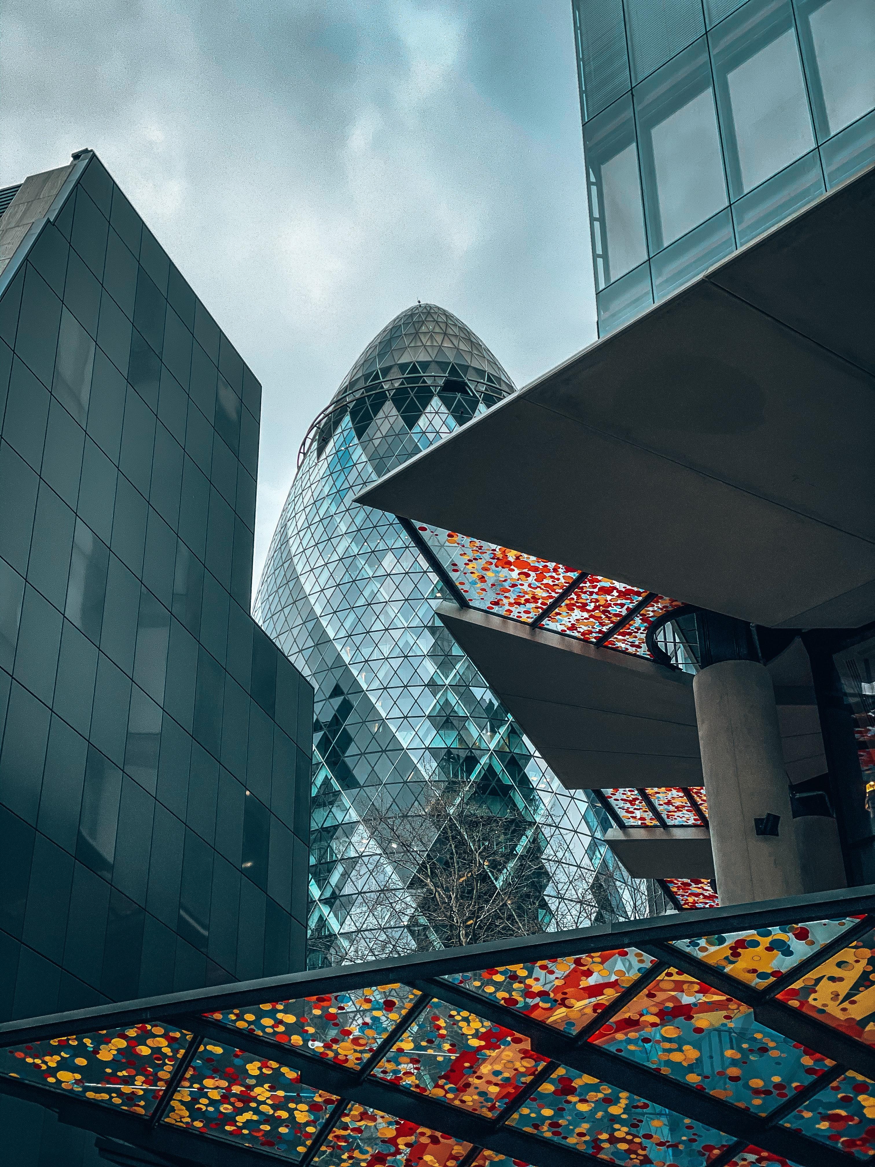 143111壁紙のダウンロードその他, 雑, 市, 都市, 建物, 高層ビル, 高 層 ビル, ガラス, グラス, 底面図, ボトムビュー, アーキテクチャ-スクリーンセーバーと写真を無料で