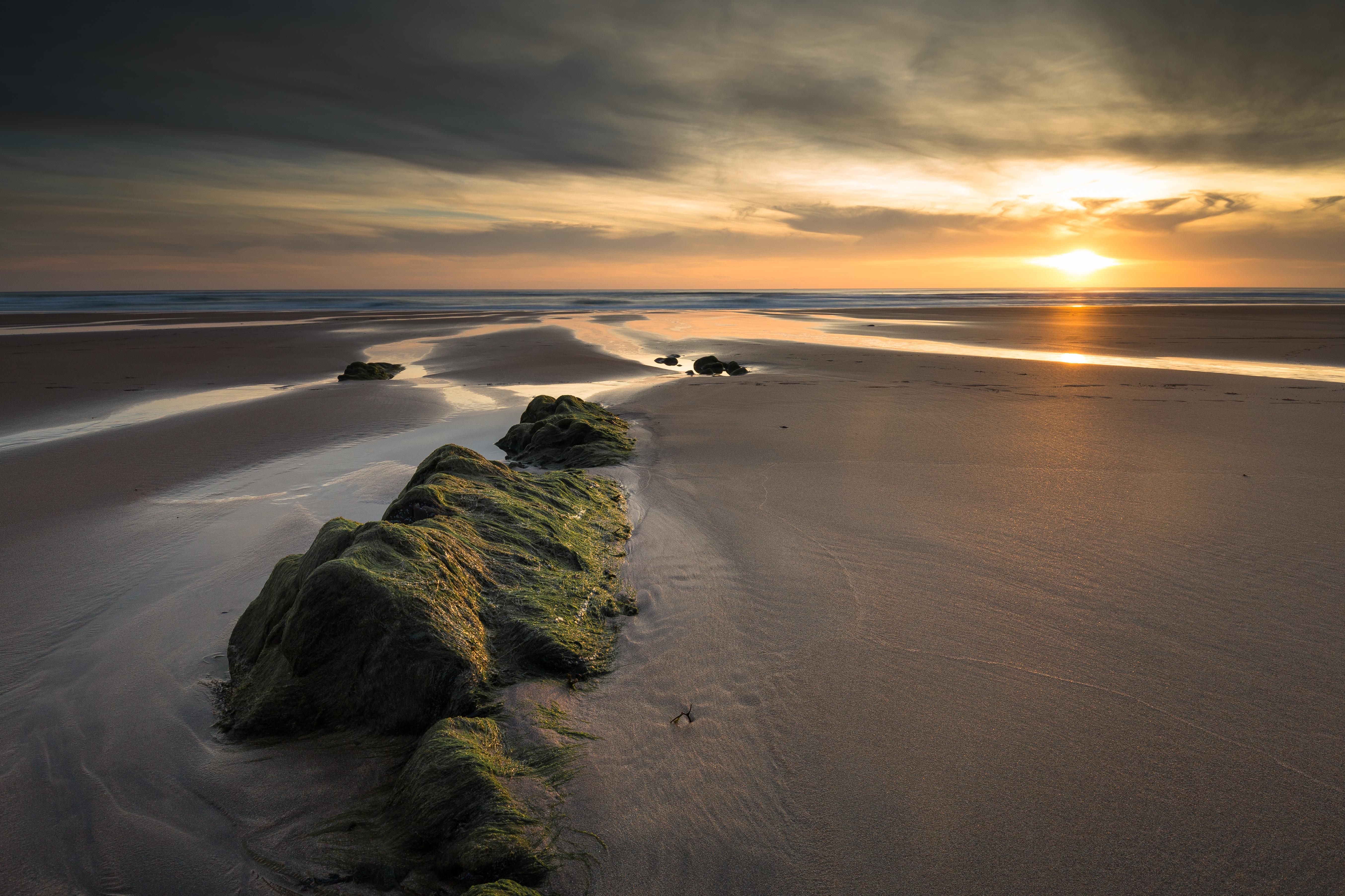 60766 免費下載壁紙 性质, 岩石, 沙, 日落, 从上面看, 顶视图, 景观 屏保和圖片