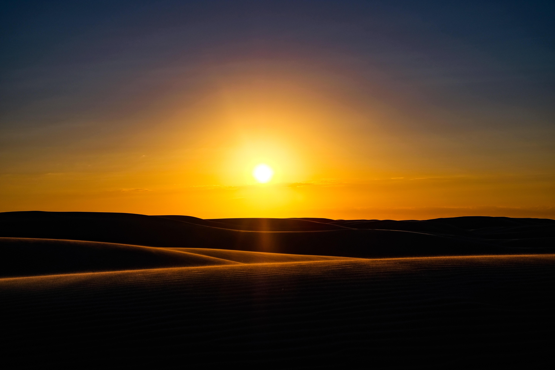 64014 Hintergrundbild 480x800 kostenlos auf deinem Handy, lade Bilder Natur, Sunset, Sand, Horizont, Dünen, Australien, Links 480x800 auf dein Handy herunter