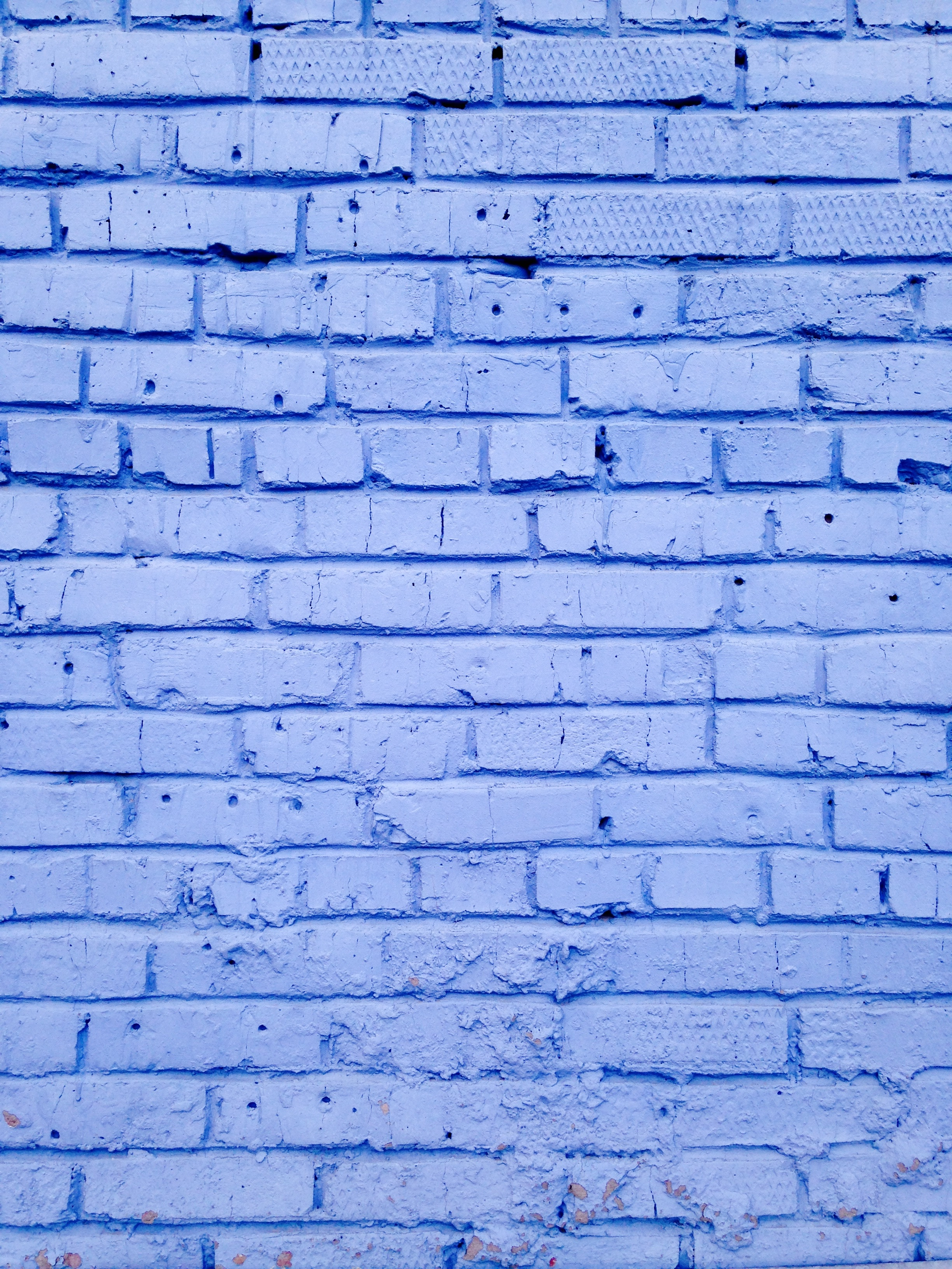 145646 download wallpaper Wall, Lilac, Texture, Textures, Bricks, Painted, Colored screensavers and pictures for free