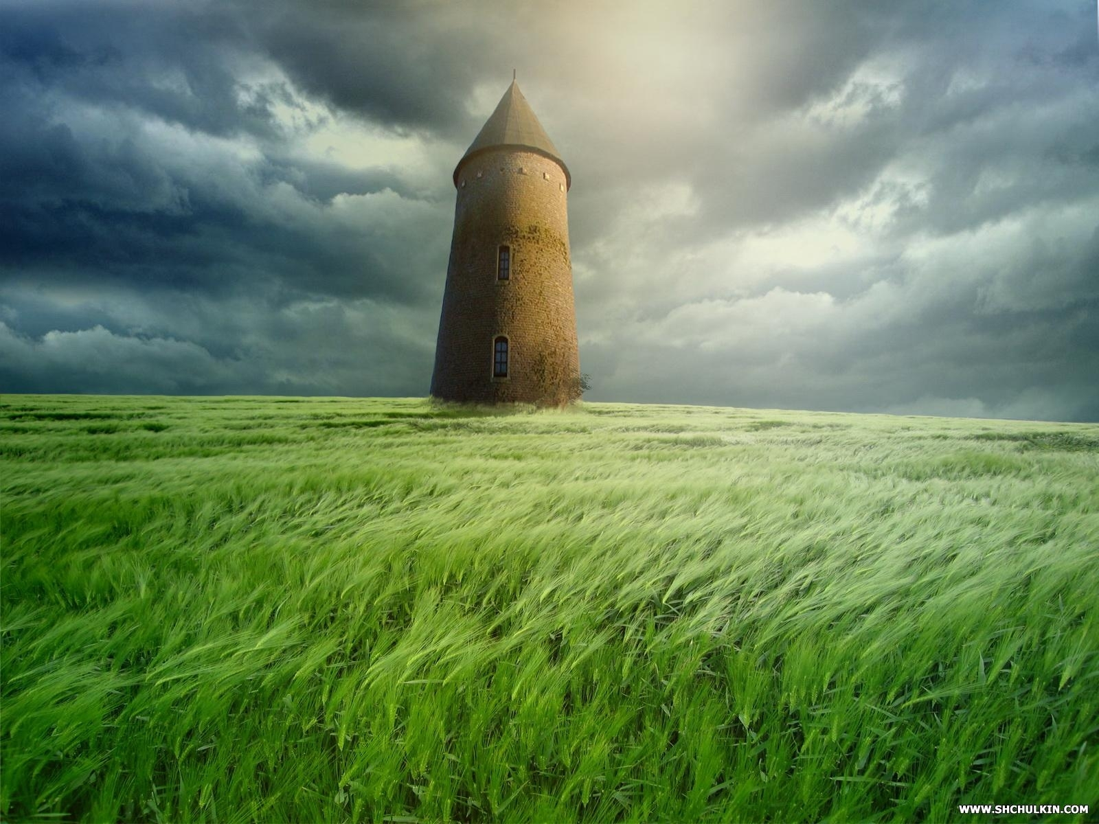 1826 скачать обои Пейзаж, Трава, Небо - заставки и картинки бесплатно