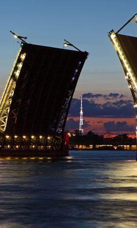 20144 скачать обои Пейзаж, Города, Река, Мосты - заставки и картинки бесплатно