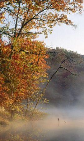 35985 скачать обои Пейзаж, Река, Осень - заставки и картинки бесплатно