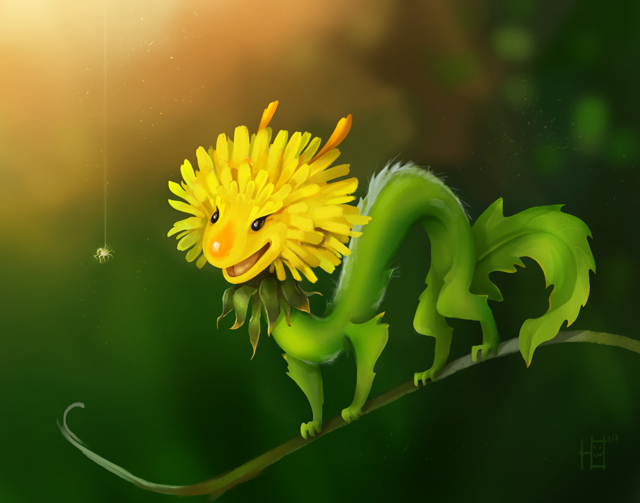 78969 Screensavers and Wallpapers Smile for phone. Download Funny, Art, Flower, Smile, Spider, Dandelion pictures for free