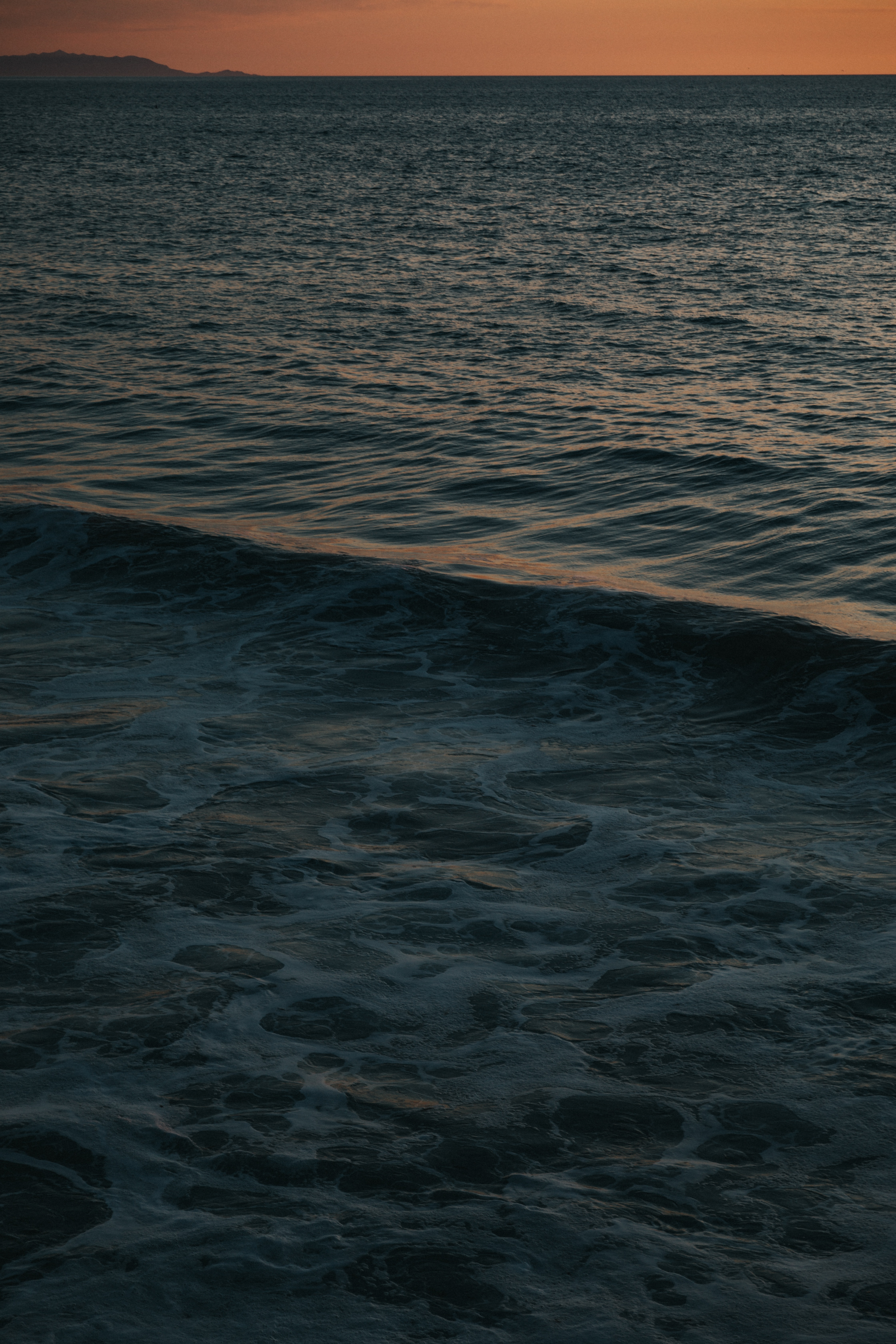 101750 download wallpaper Nature, Sea, Ripples, Ripple, Dusk, Twilight, Water, Waves screensavers and pictures for free