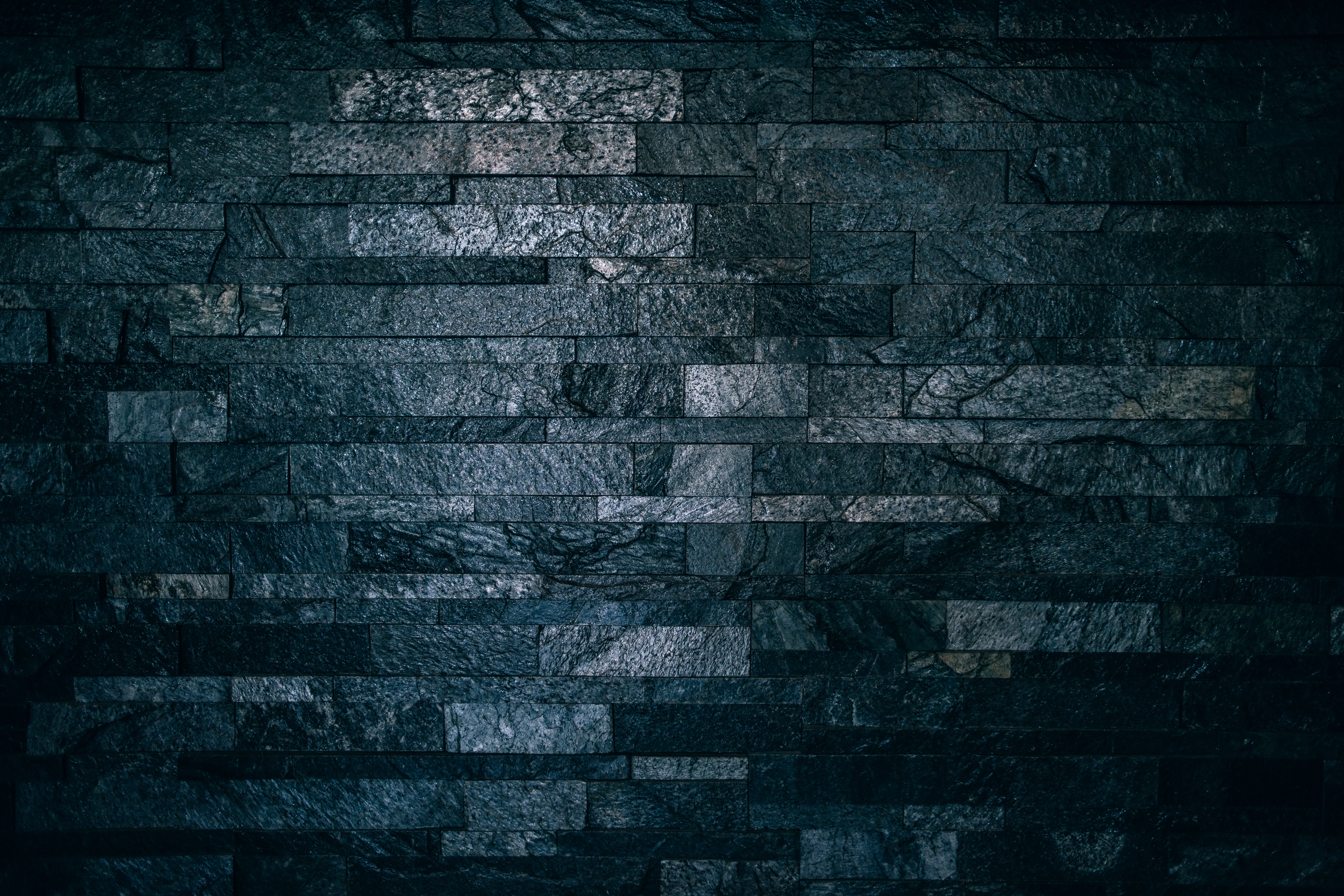 112661 download wallpaper Textures, Texture, Wall, Bricks, Tile, Dark, Ribbed screensavers and pictures for free