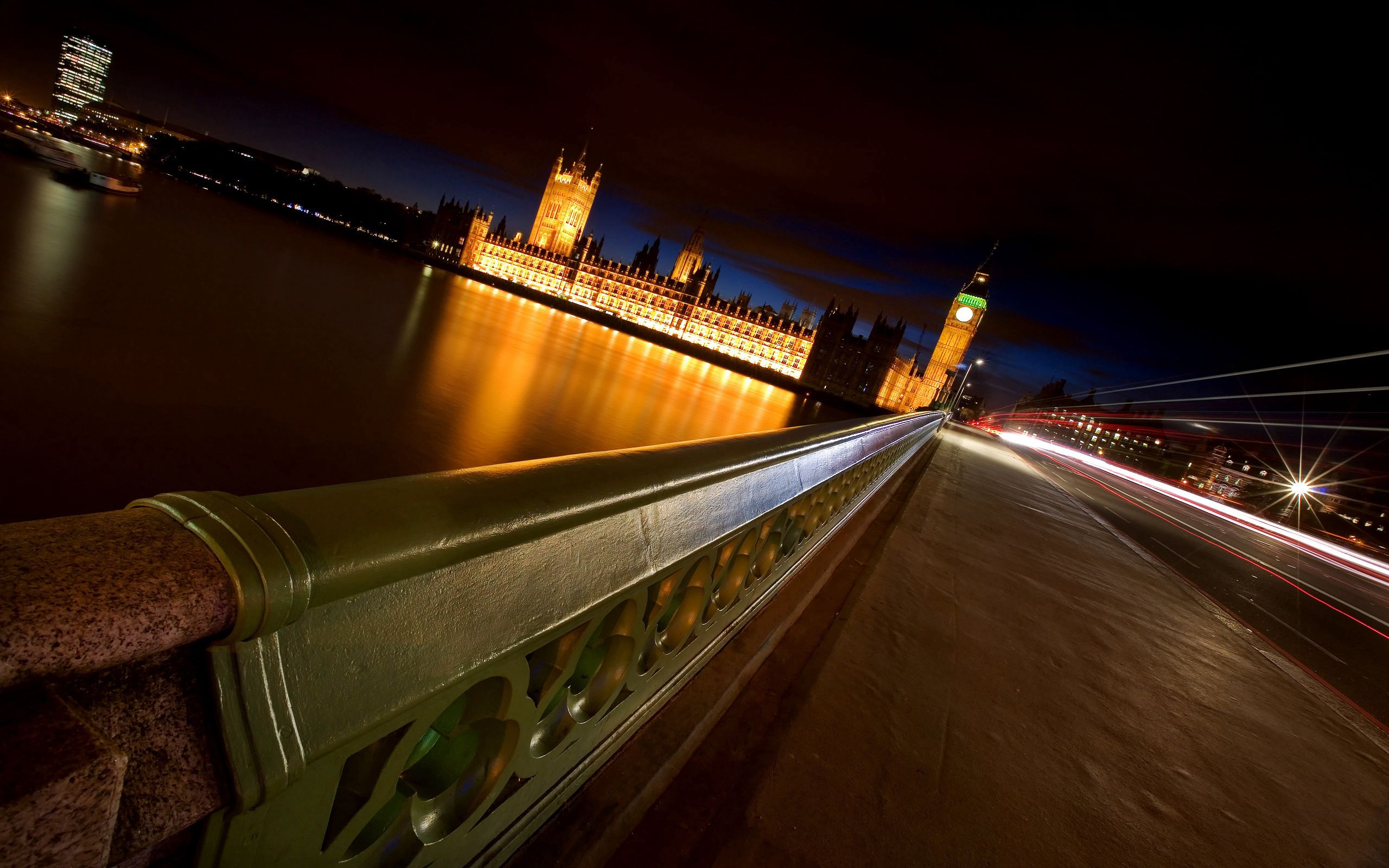 93936 download wallpaper London, Night, Bridge, Rivers, Big Ben, Cities screensavers and pictures for free