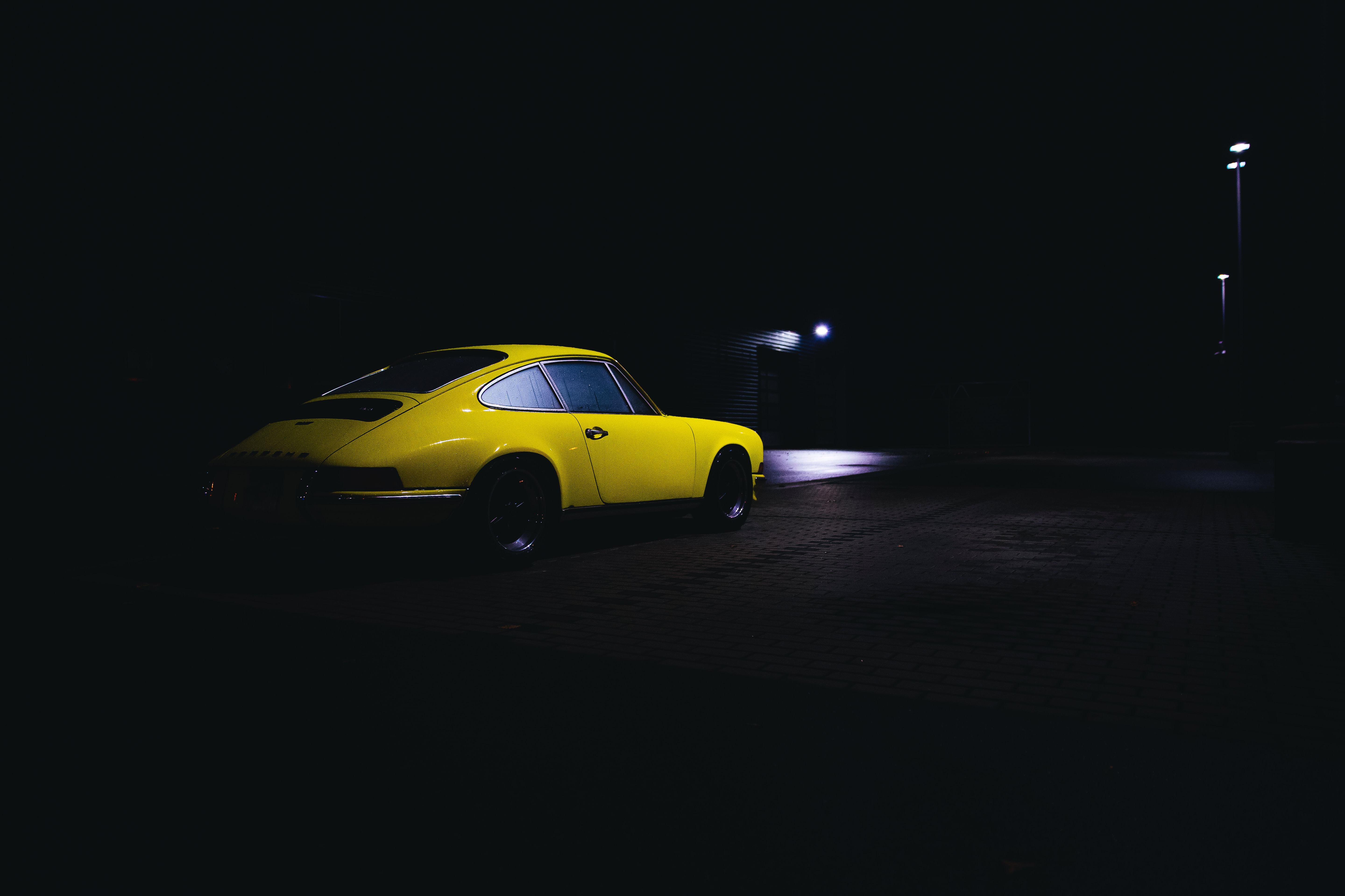 154562 Screensavers and Wallpapers Retro for phone. Download Cars, Car, Machine, Retro, Dark, Night pictures for free