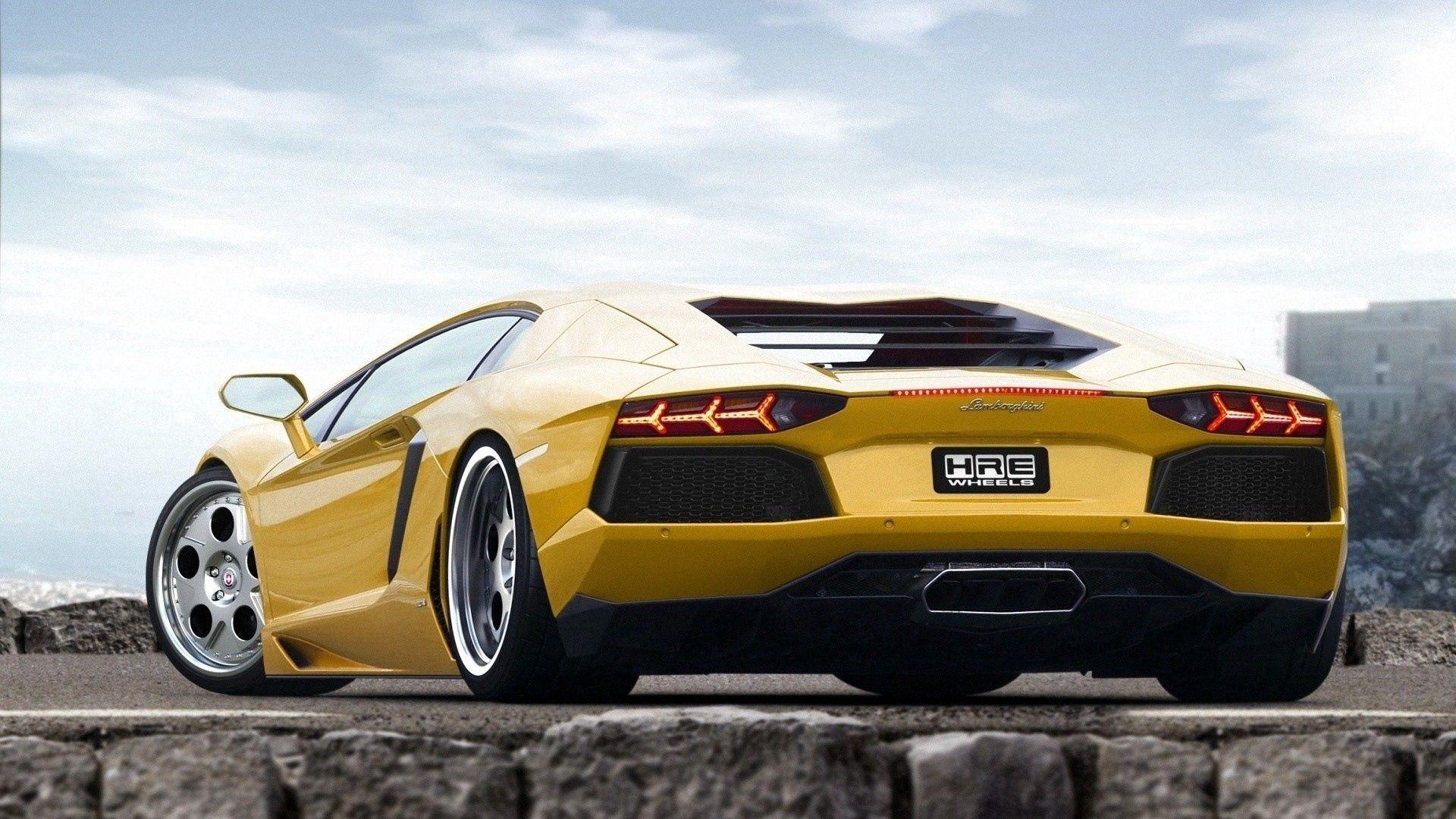 68899 téléchargez gratuitement des fonds d'écran Jaune pour votre téléphone, des images Voitures, Style, Sport, Lamborghini Jaune et des économiseurs d'écran pour votre mobile