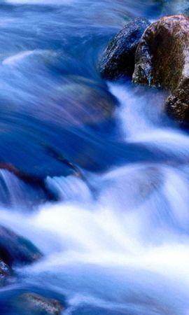 24914 скачать обои Пейзаж, Река, Камни - заставки и картинки бесплатно
