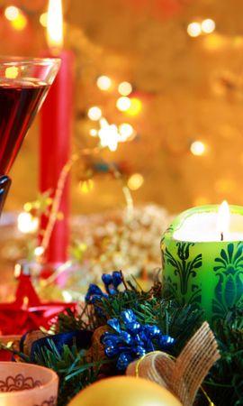 41792 descargar fondo de pantalla Vacaciones, Año Nuevo, Objetos: protectores de pantalla e imágenes gratis