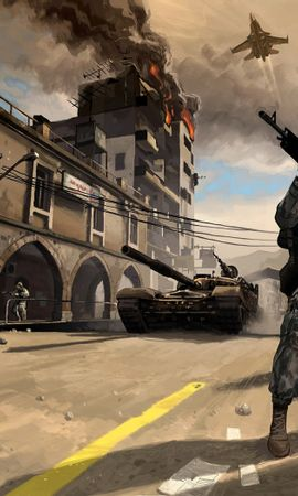25443 download wallpaper Games, Battlefield, Soldiers screensavers and pictures for free