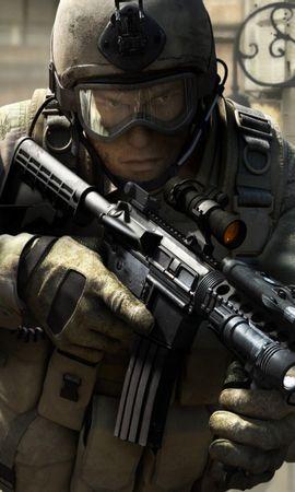 43377 télécharger le fond d'écran Personnes, Hommes, Arme, Guerre - économiseurs d'écran et images gratuitement