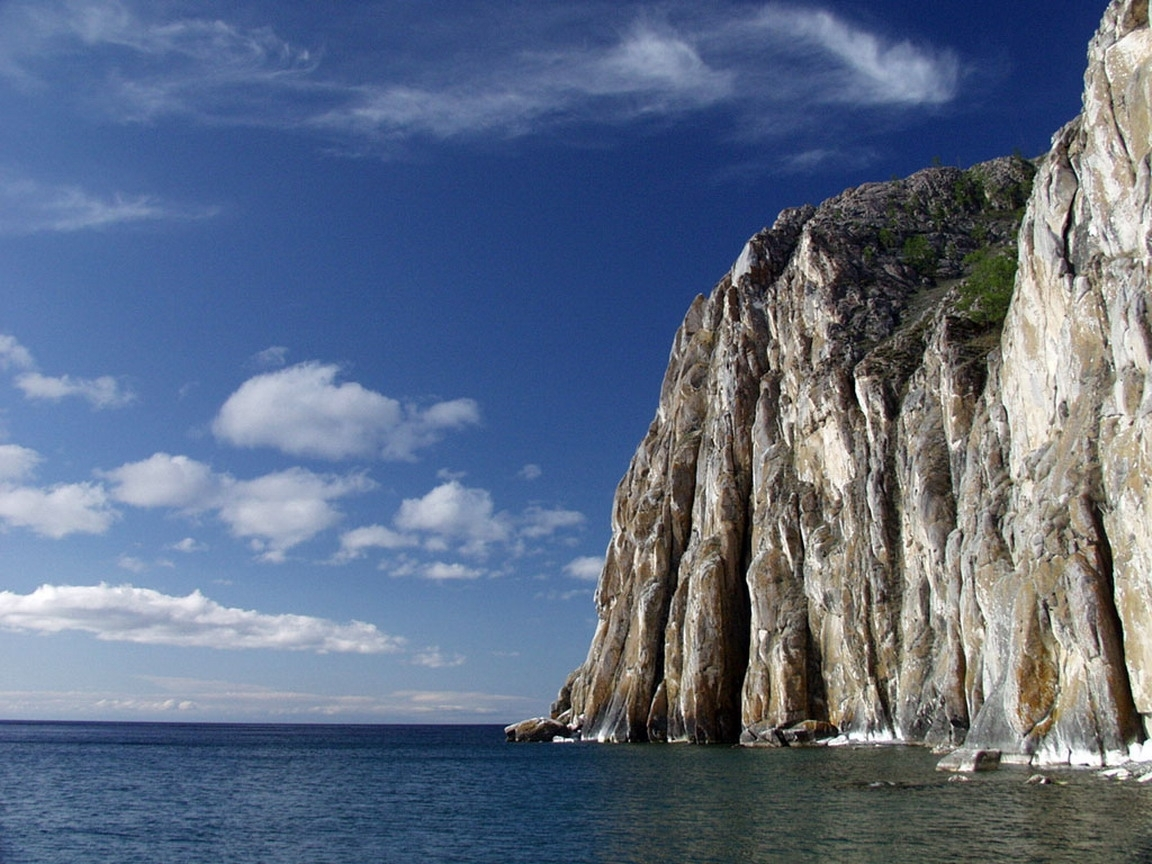 325 download wallpaper Landscape, Water, Sky, Mountains, Sea screensavers and pictures for free