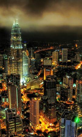 7703 скачать обои Пейзаж, Города, Ночь, Архитектура - заставки и картинки бесплатно