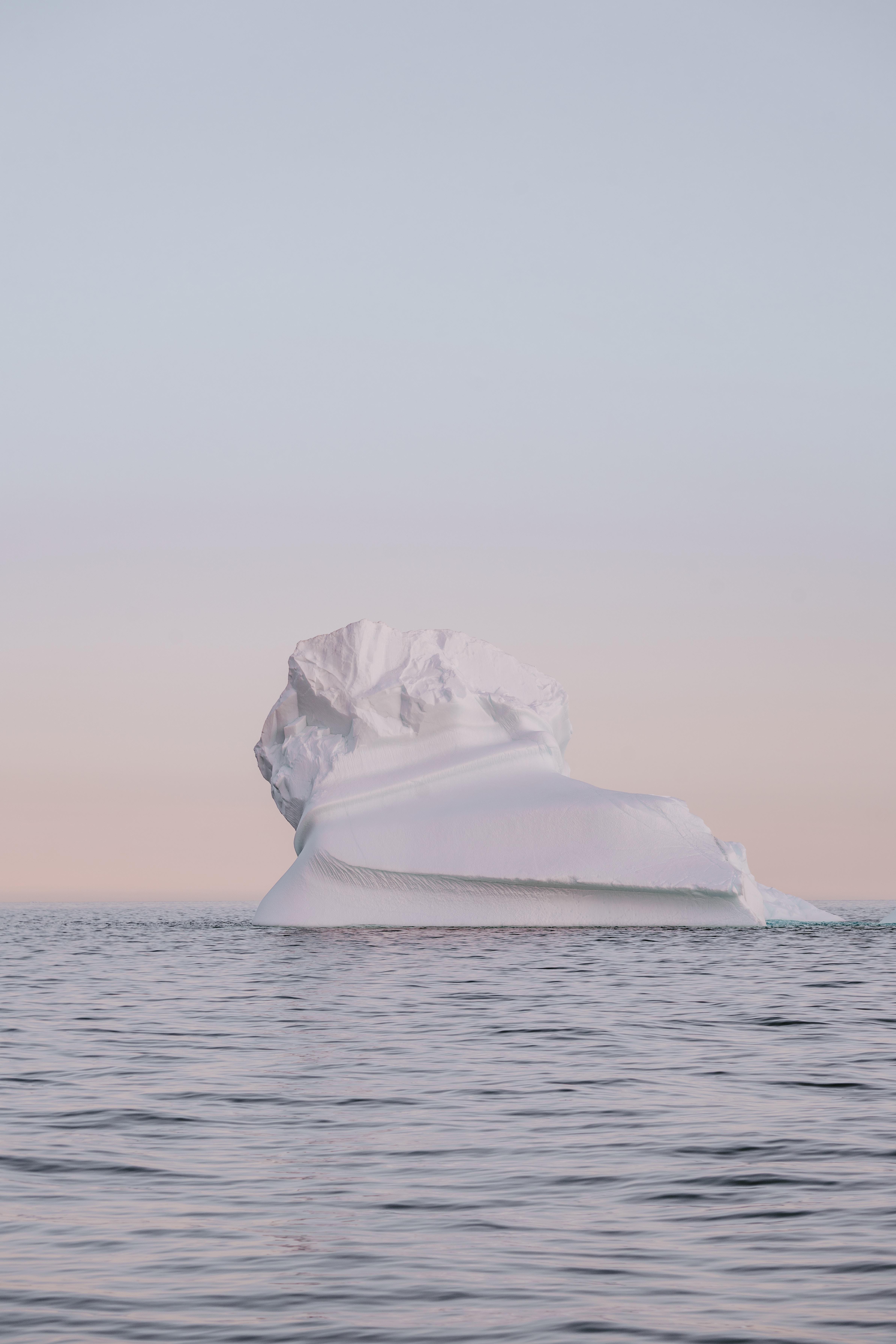 135257 fond d'écran 480x800 sur votre téléphone gratuitement, téléchargez des images Nature, Crépuscule, Neige, Arctique, Iceberg 480x800 sur votre mobile