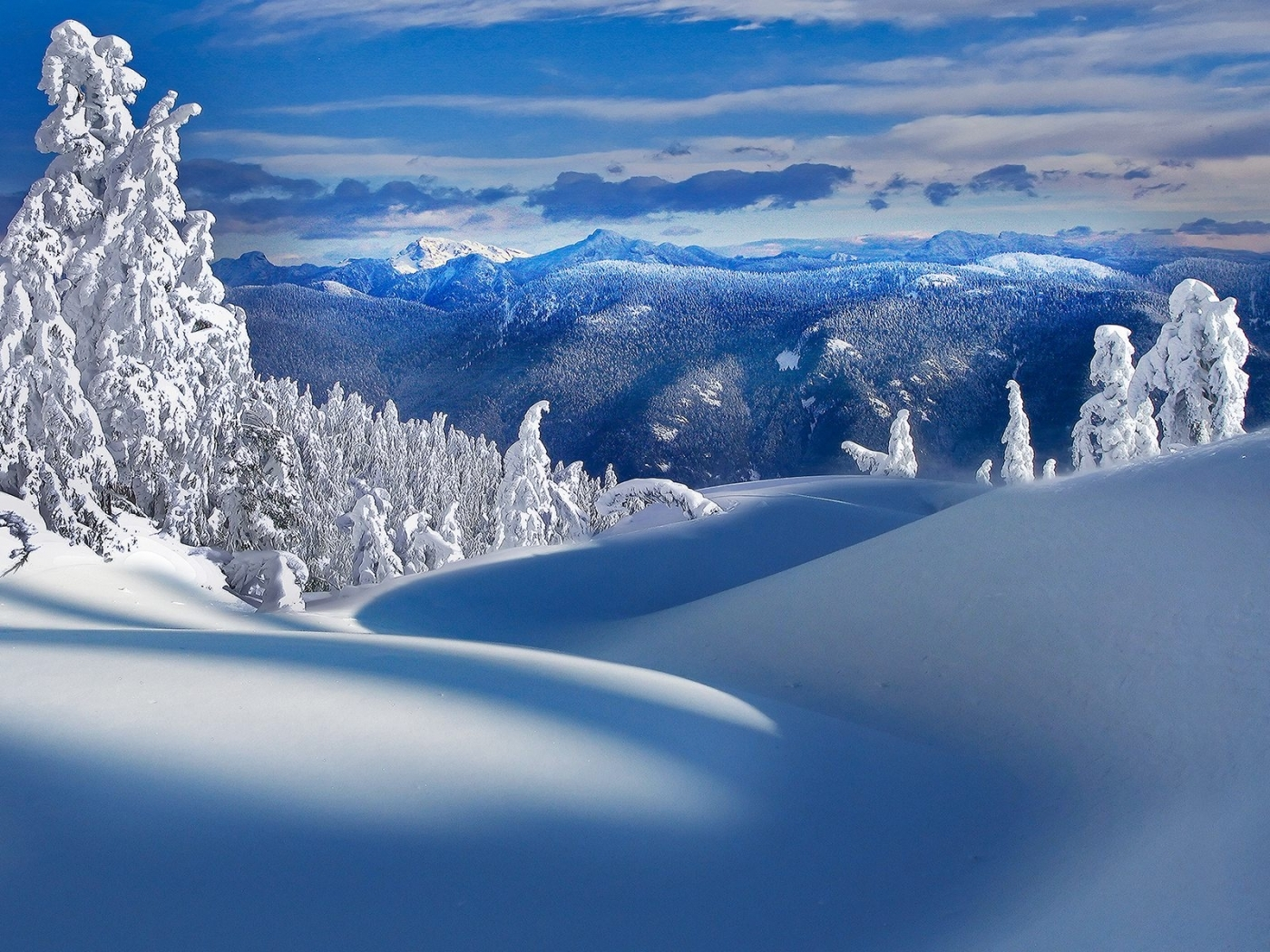 45442 download wallpaper Landscape, Winter, Snow screensavers and pictures for free