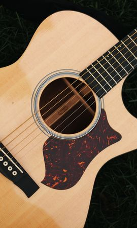 145949 Screensavers and Wallpapers Music for phone. Download Music, Guitar, Strings, Musical Instrument, Wood, Wooden pictures for free