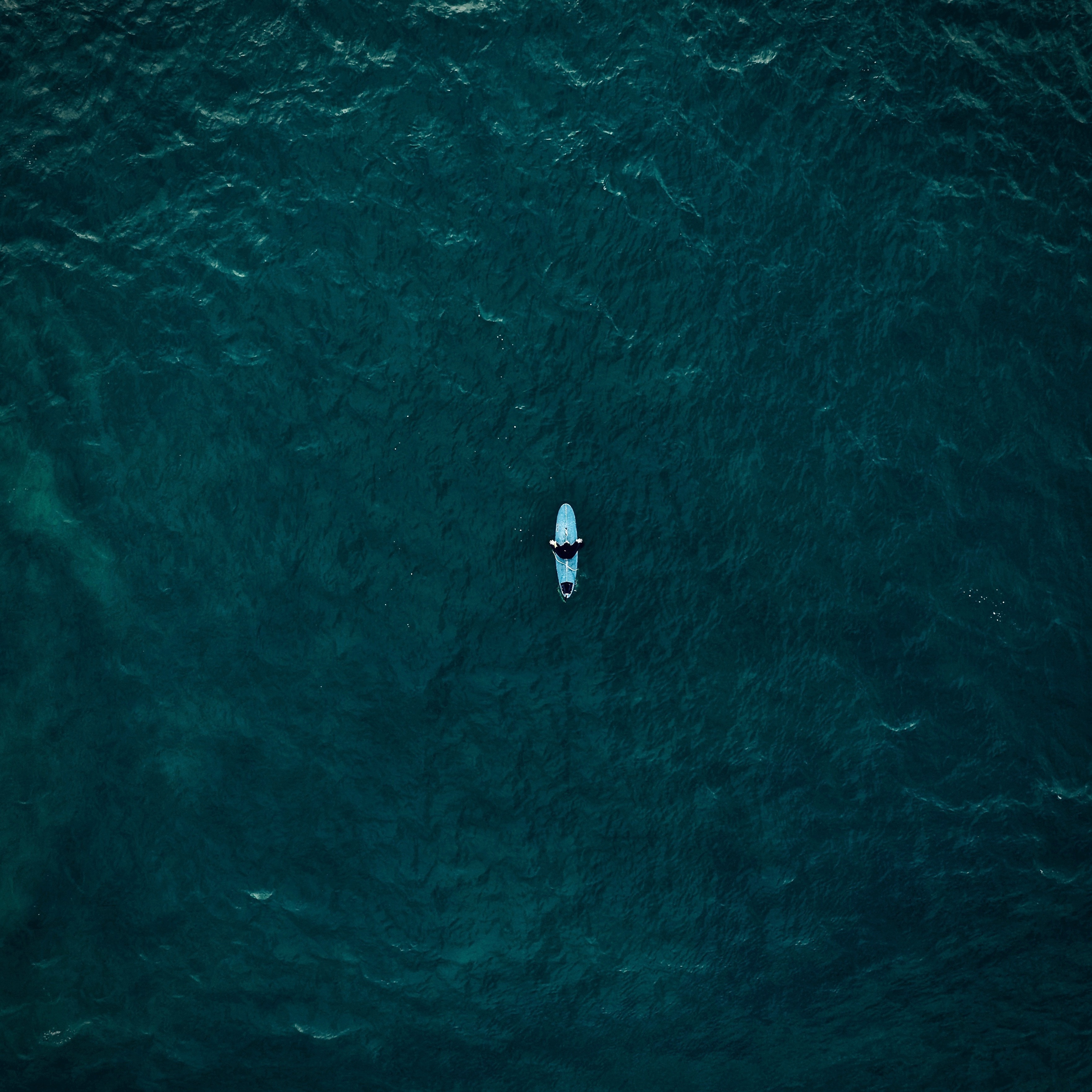 81064 download wallpaper Nature, Surfer, Serfing, View From Above, Ocean screensavers and pictures for free